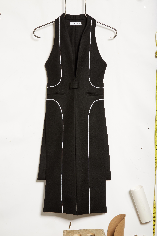 Wool Vest,                             Alternate thumbnail 7, color,                             Black