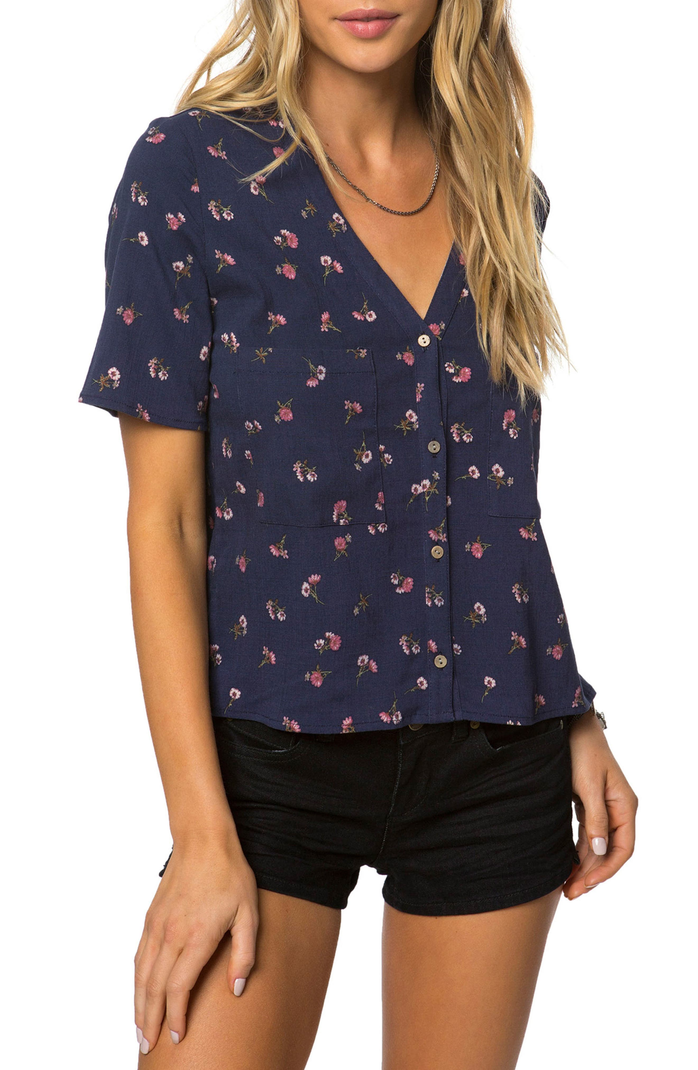 O'Neill Lettie Print Top