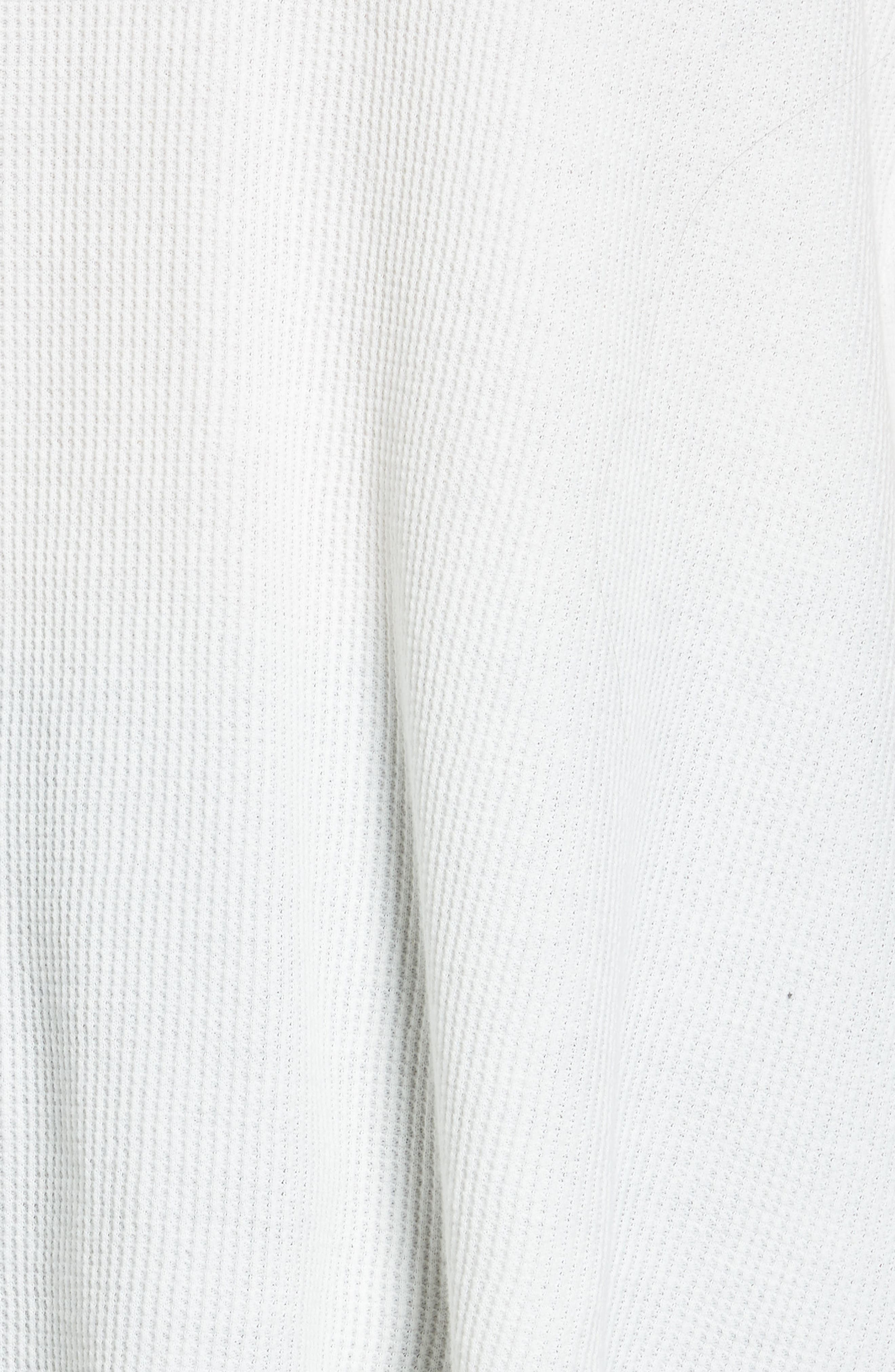 Washed Thermal Tank,                             Alternate thumbnail 5, color,                             Ivory Egret