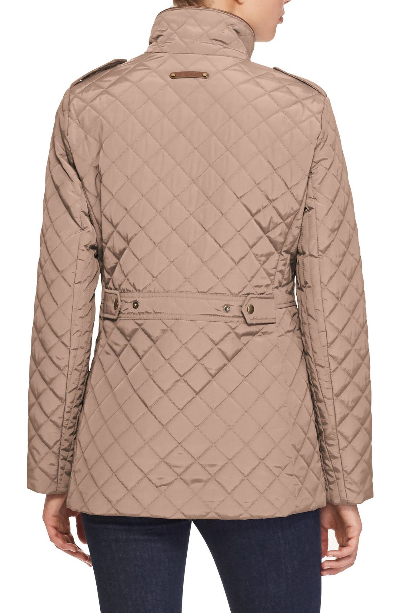 Alternate Image 3  - Lauren Ralph Lauren Quilted Field Jacket