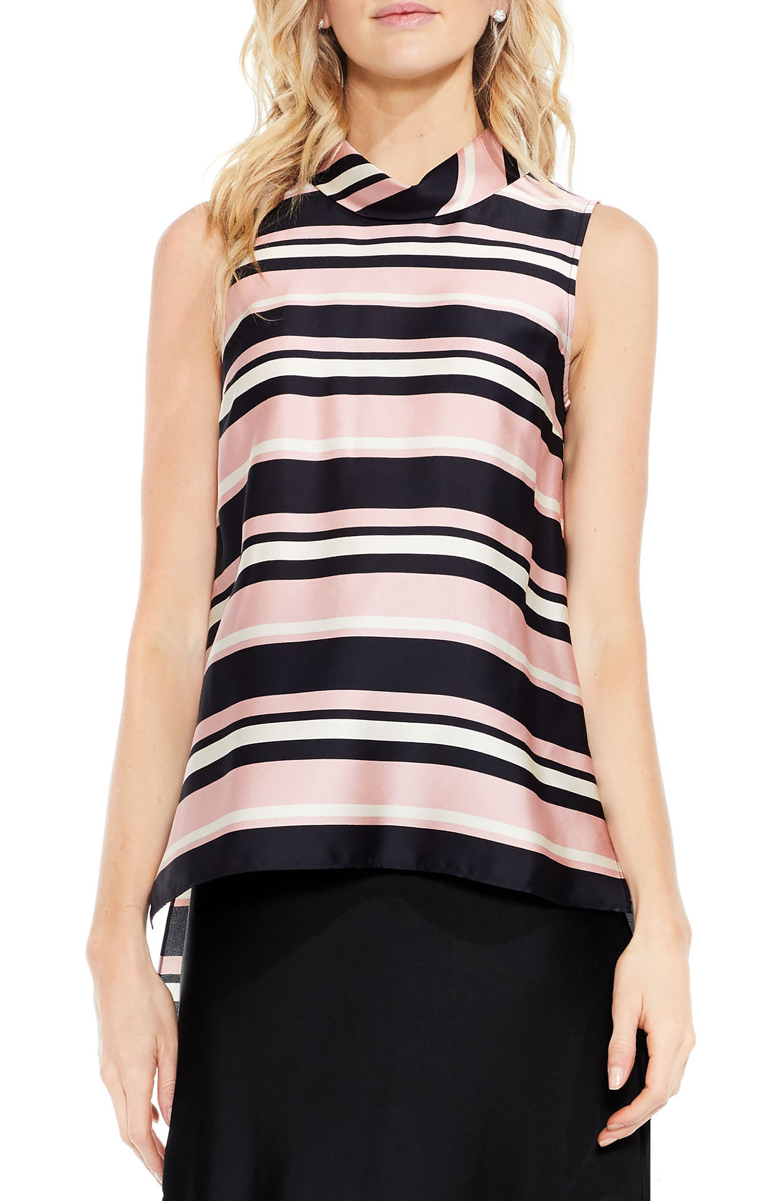 Vince Camuto Modern Chords Tunic Blouse