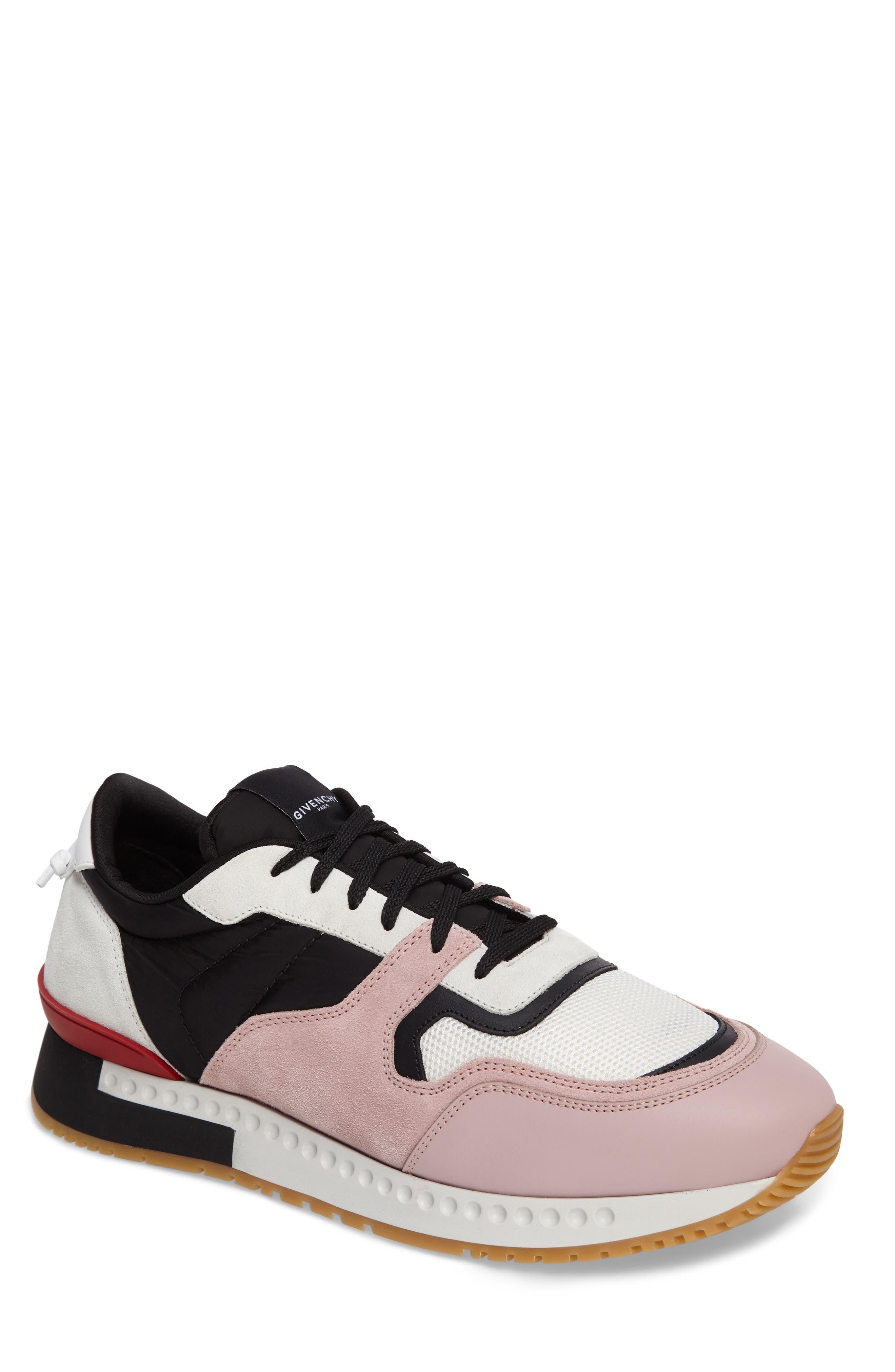 Givenchy Mixed-Finish Sneaker (Men)