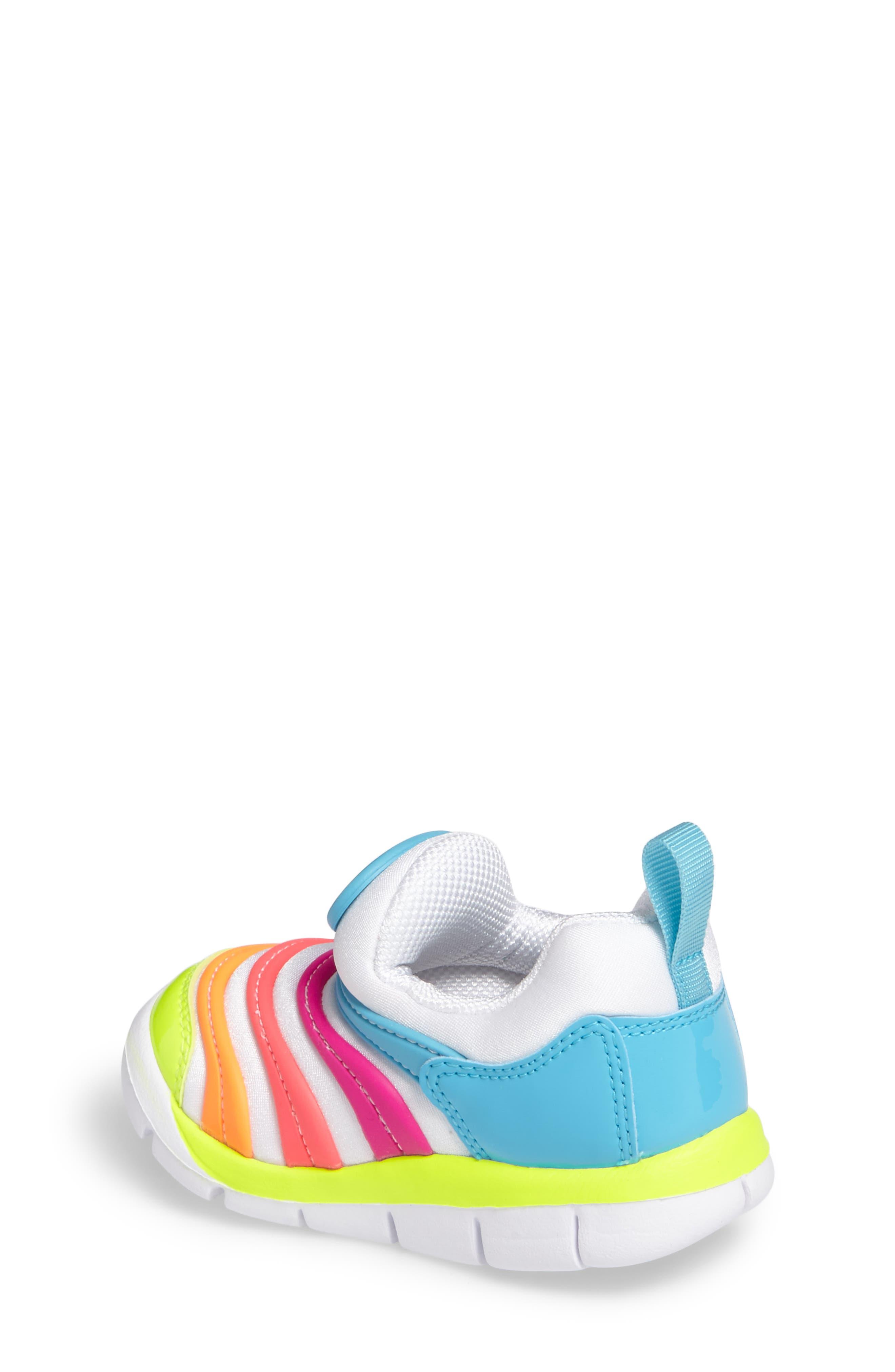 Alternate Image 2  - Nike Dynamo Free Sneaker (Baby, Walker, & Toddler)