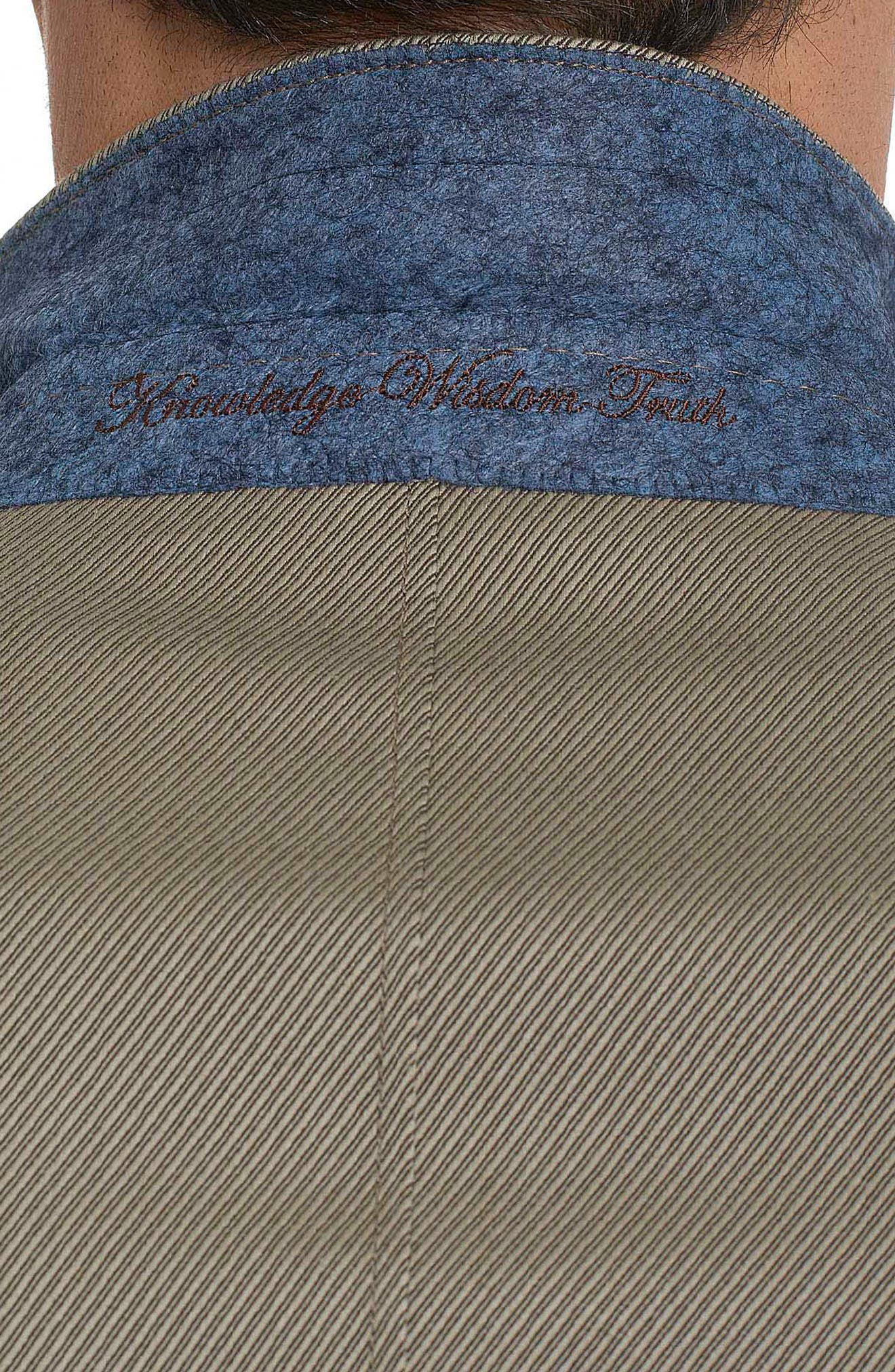 Castille Classic Fit Wool Blend Sport Coat,                             Alternate thumbnail 2, color,                             Taupe