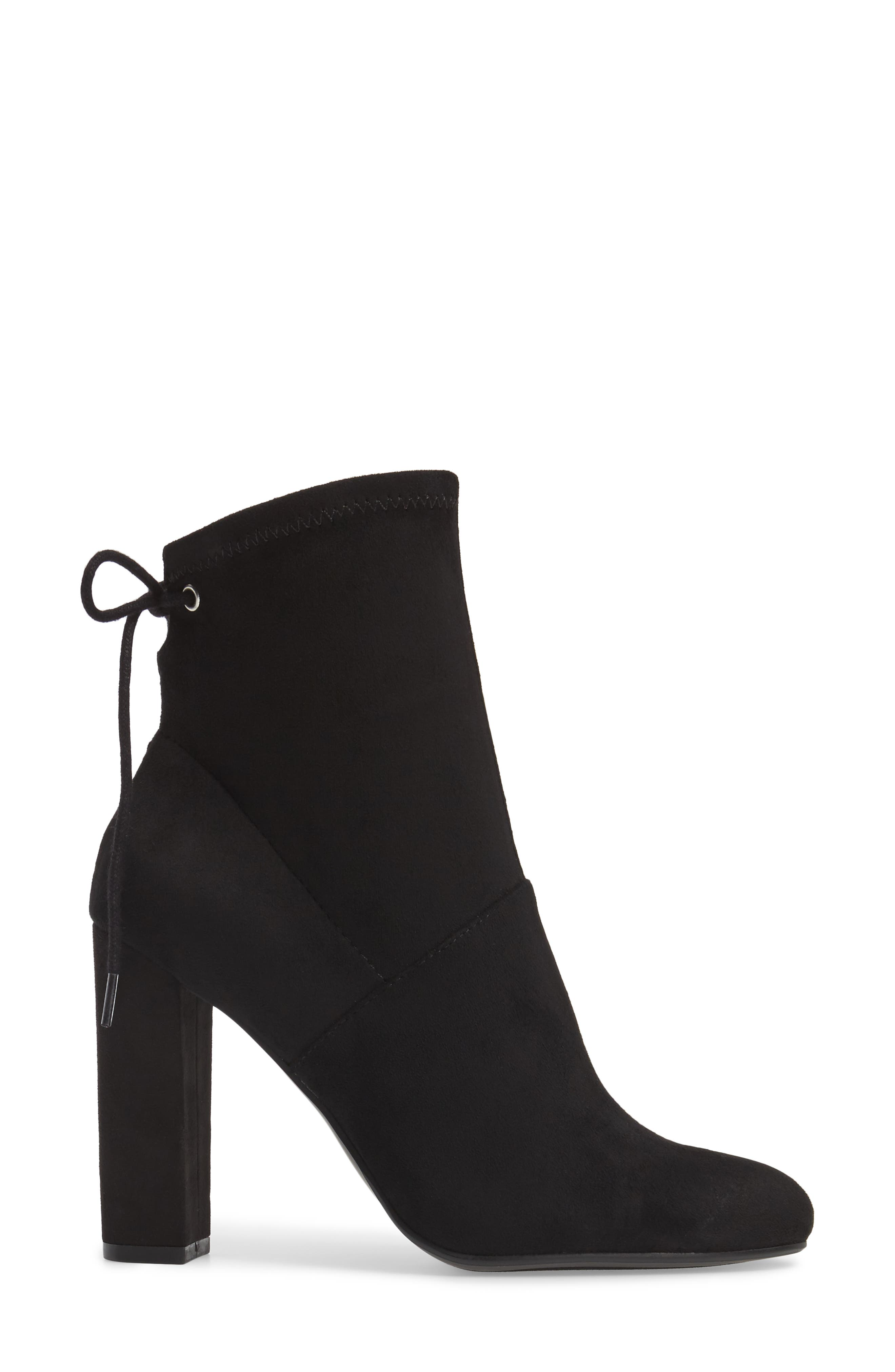 Enact Tie-Back Bootie,                             Alternate thumbnail 3, color,                             Black
