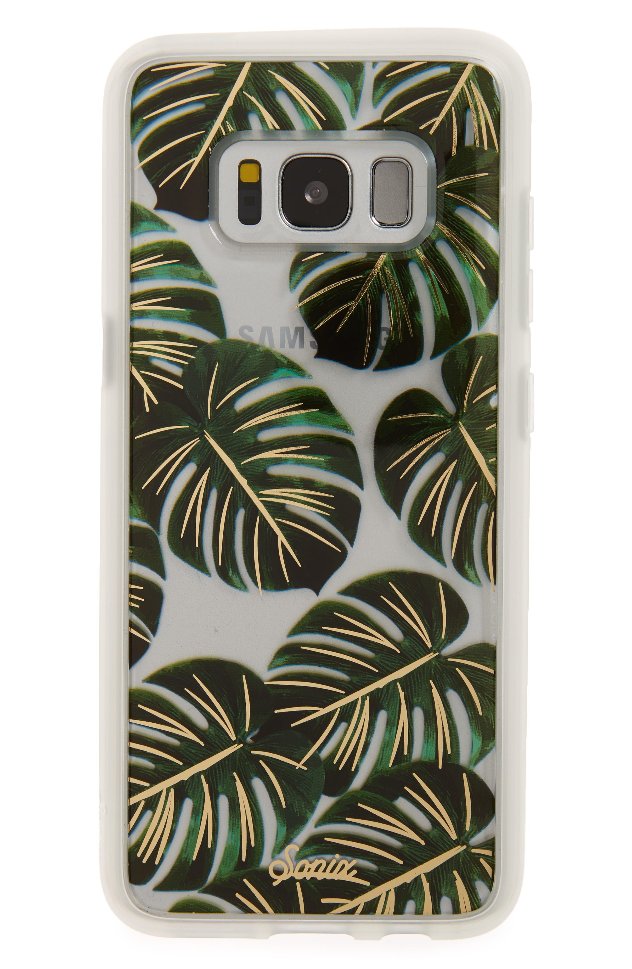 Tamarindo Samsung Galaxy S8 & Galaxy S8 Plus Case,                         Main,                         color, Green