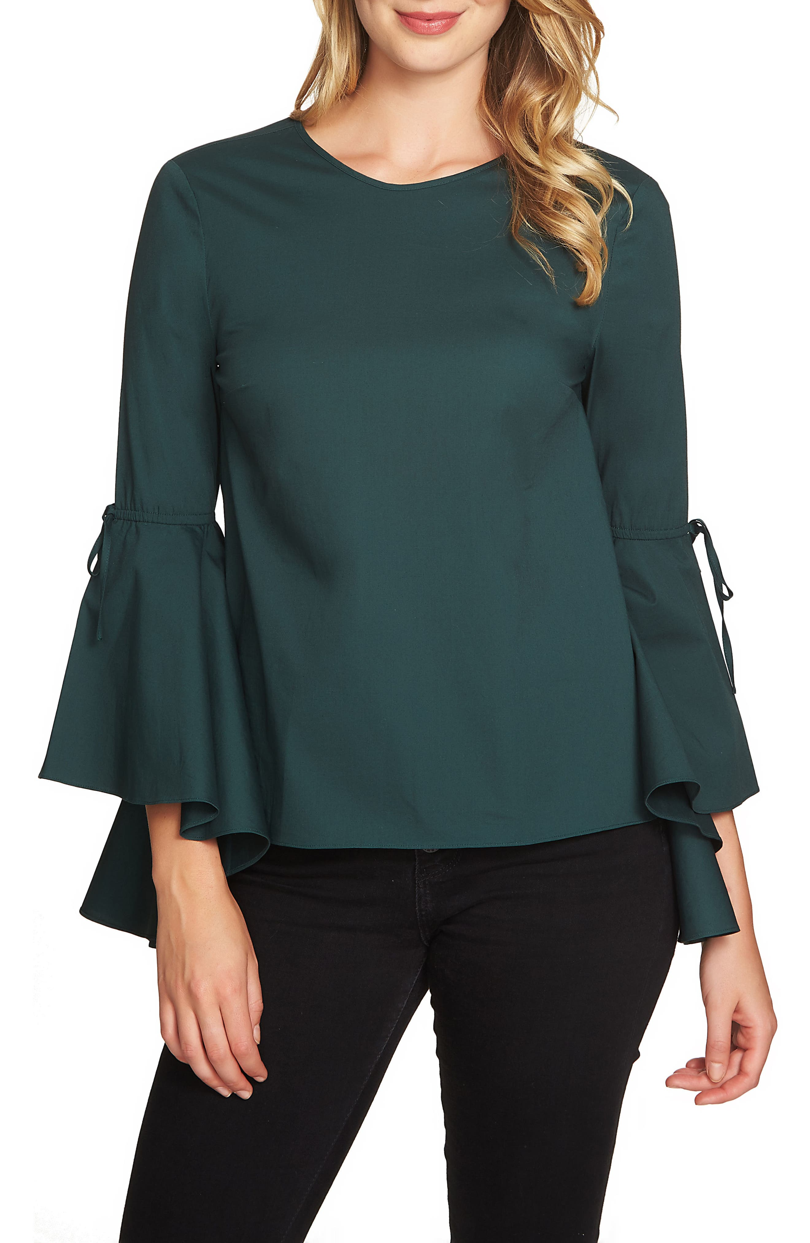 Alternate Image 1 Selected - 1.STATE Cascade Sleeve Top