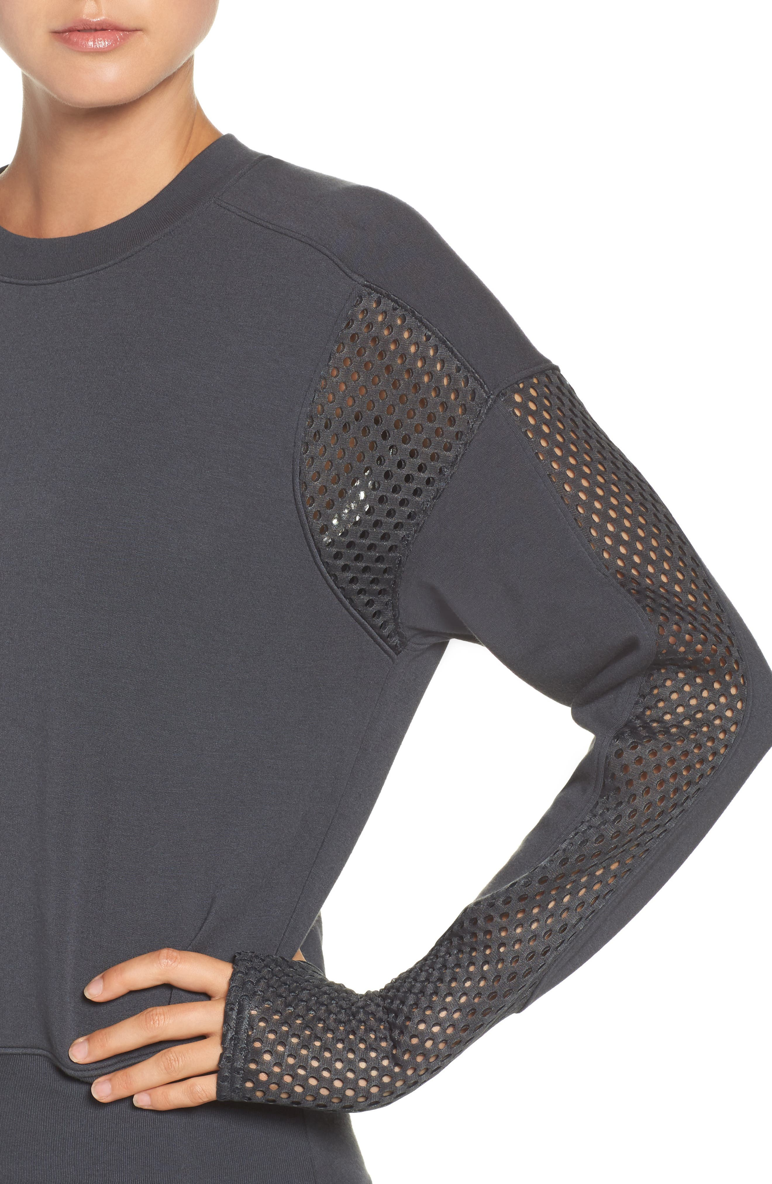 Formation Pullover,                             Alternate thumbnail 4, color,                             Anthracite