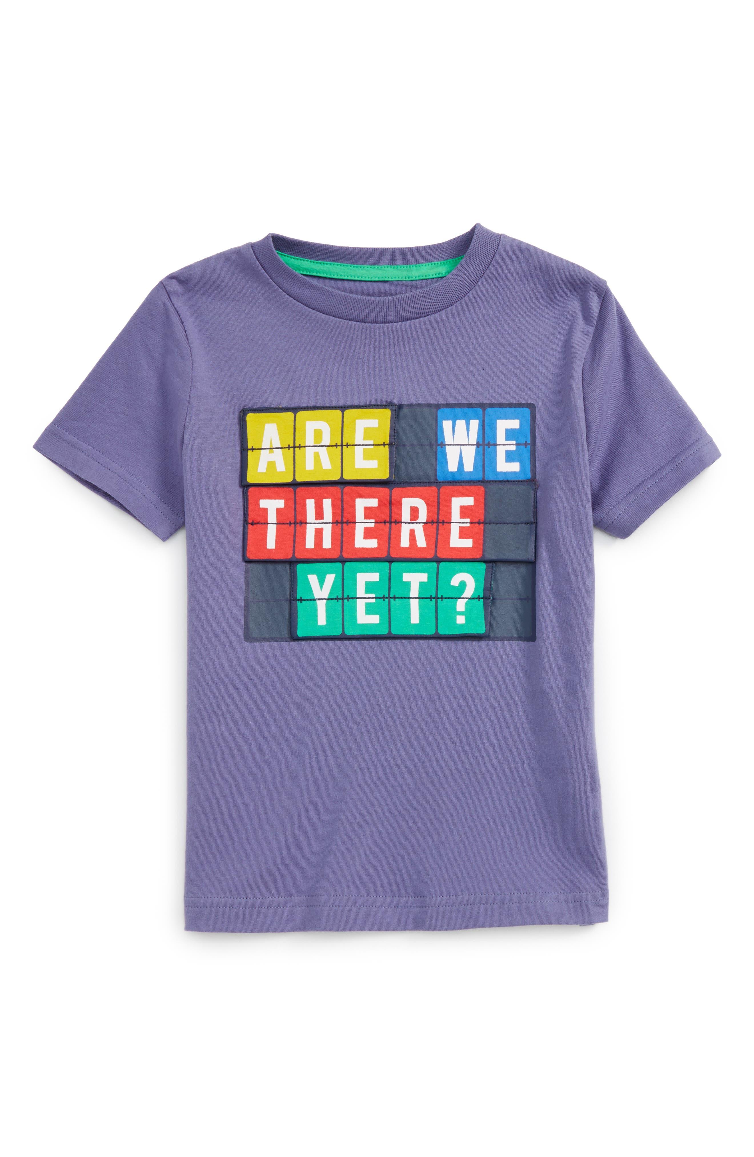 Mini Boden Travel Appliqué T-Shirt (Toddler Boys, Little Boys & Big Boys)