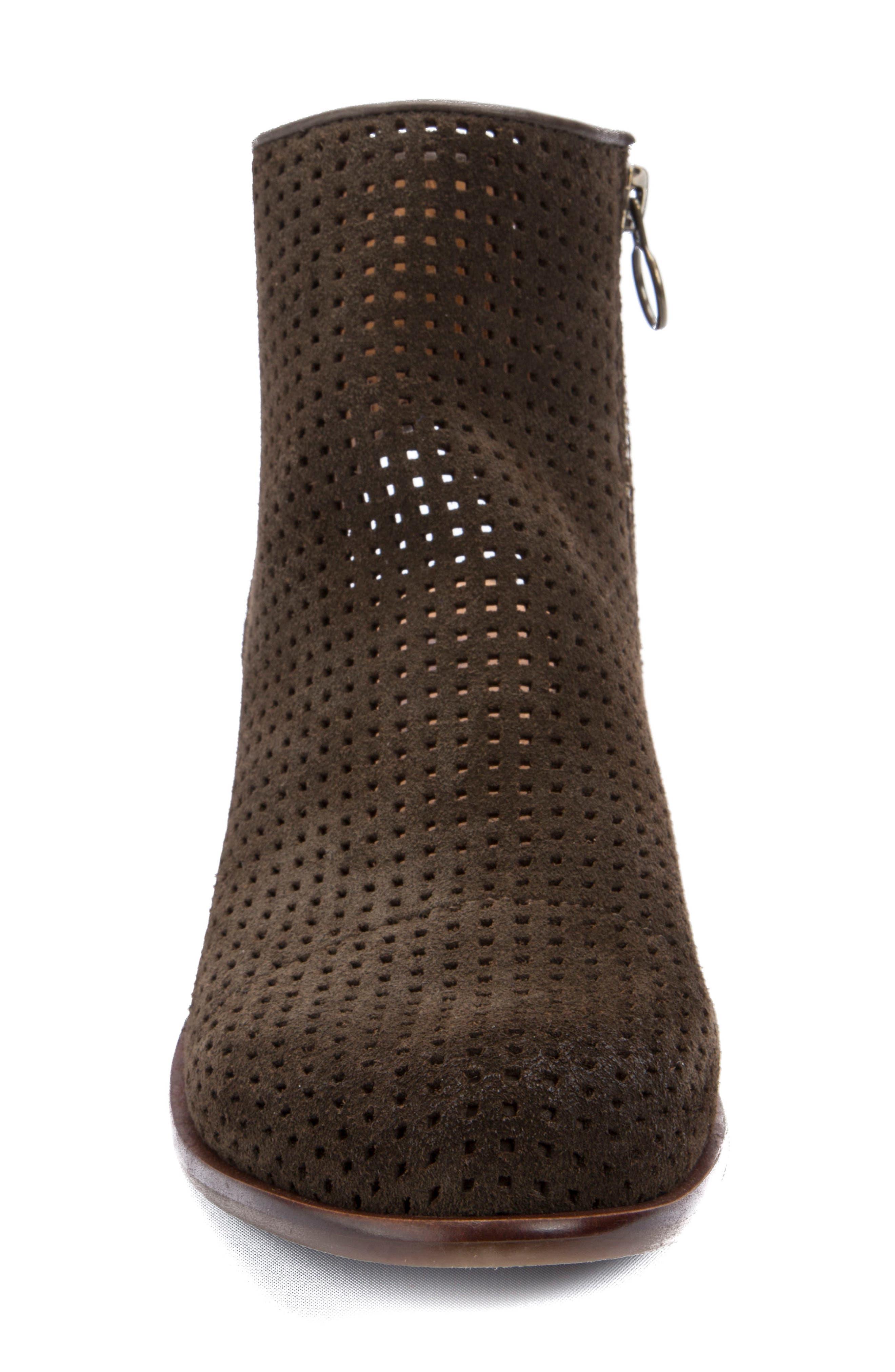 Alternate Image 4  - Latigo Izadore Perforated Open Heel Bootie (Women)