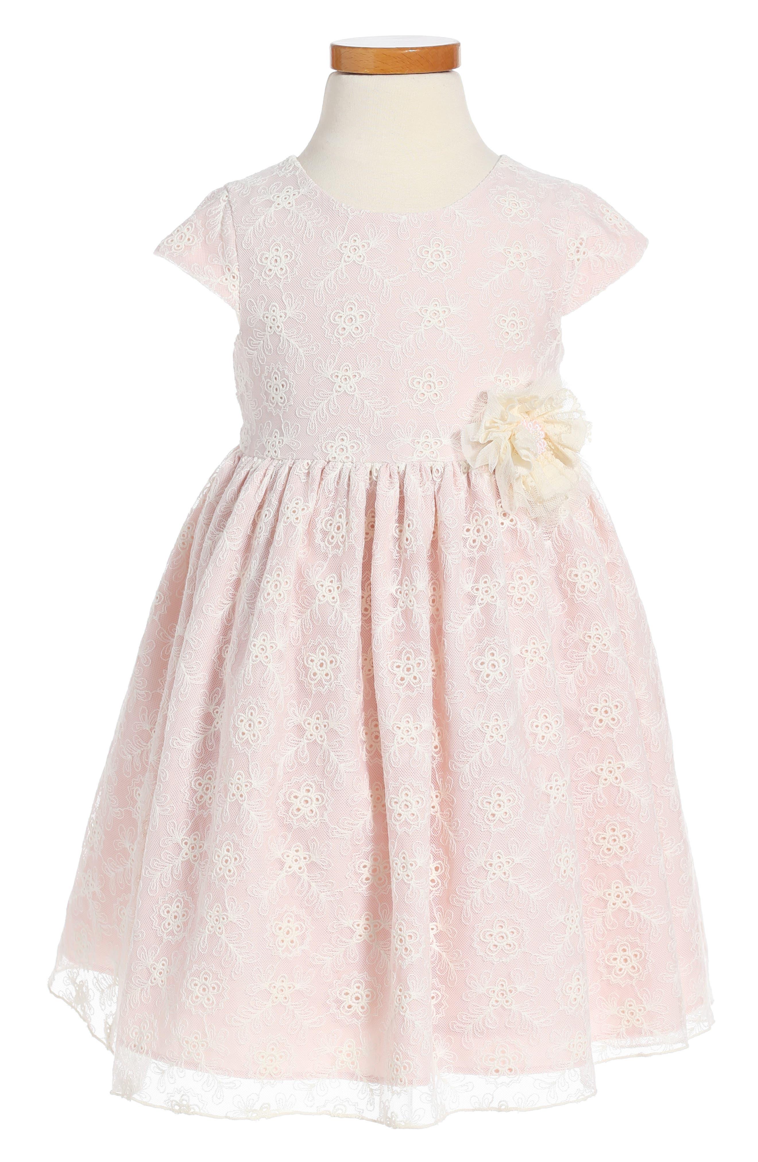 Main Image - Pippa & Julie Lace Dress (Toddler Girls & Little Girls)