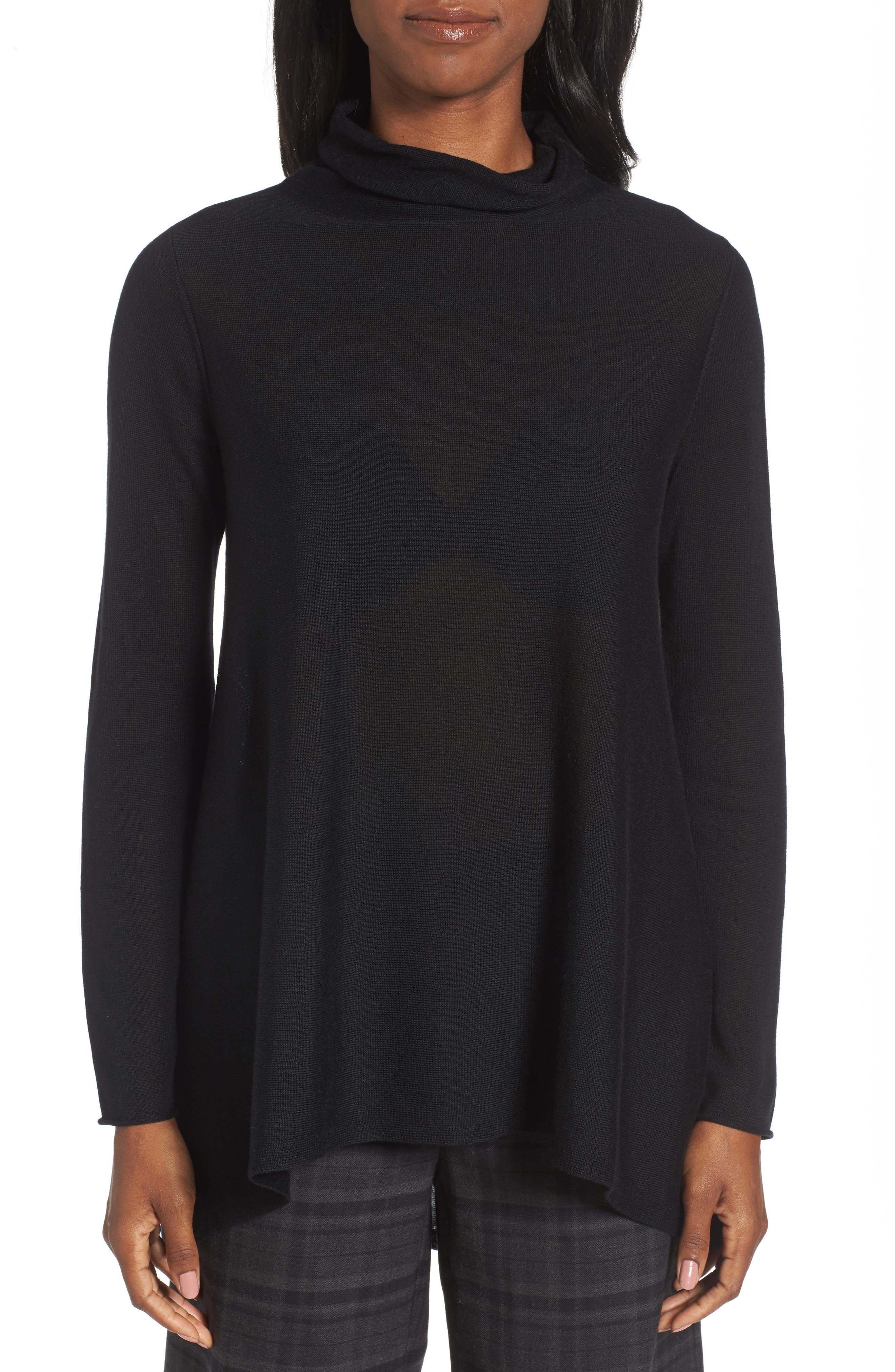 Eileen Fisher Scrunch Turtleneck Sweater