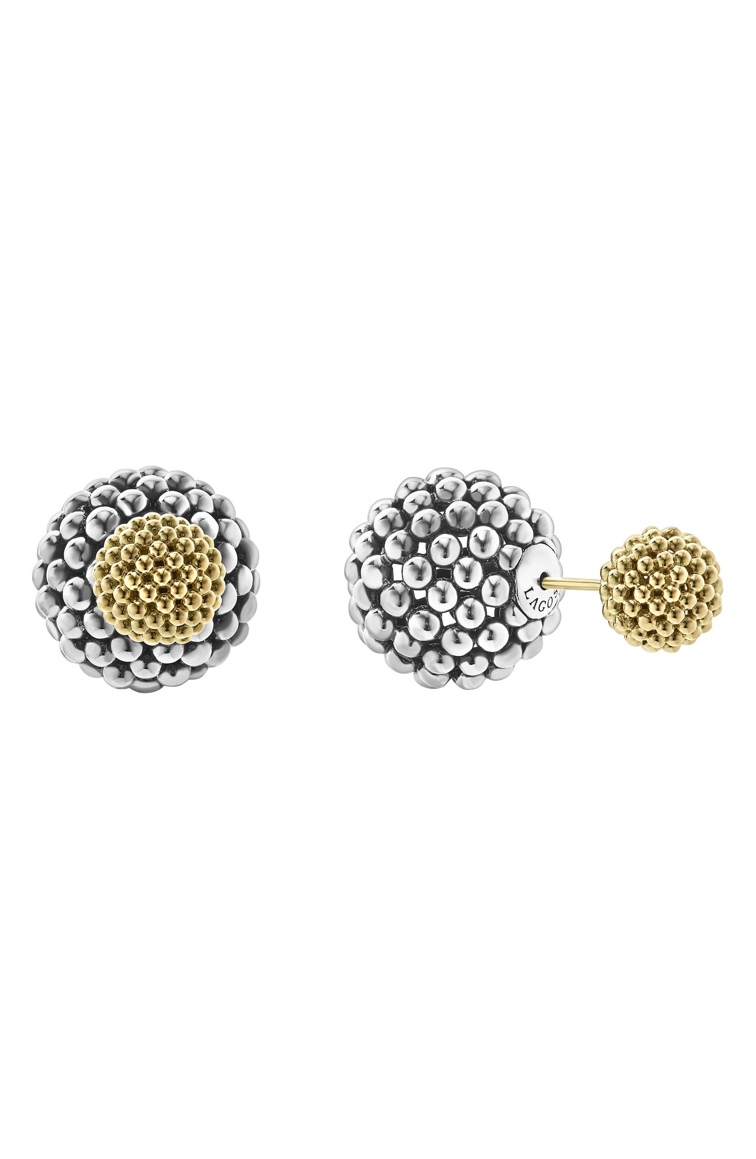 Alternate Image 2  - LAGOS Caviar Ball Stud Earrings