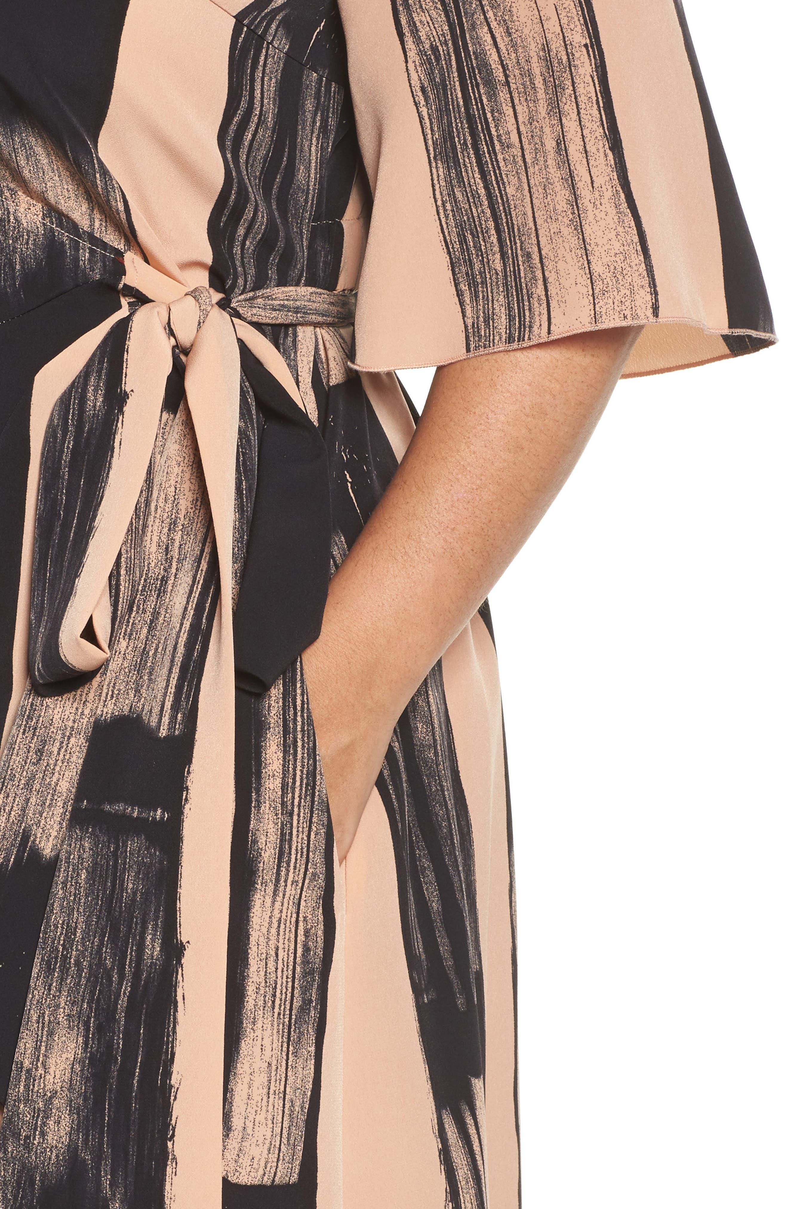 Alternate Image 4  - Melissa McCarthy Seven7 Print Wrap Dress (Plus Size)