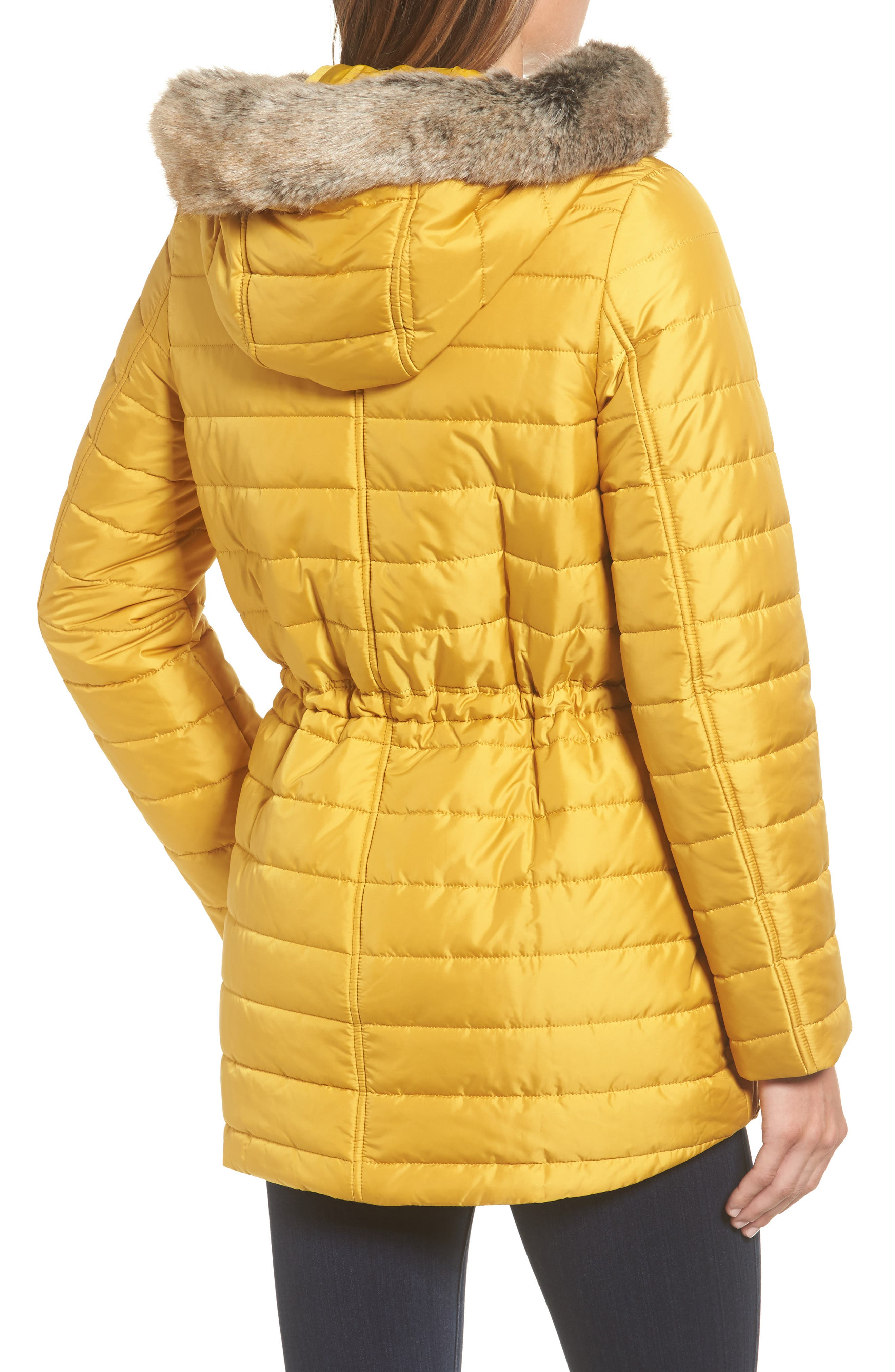 Alternate Image 2  - Barbour Ascott Water Resistant Quilted Jacket