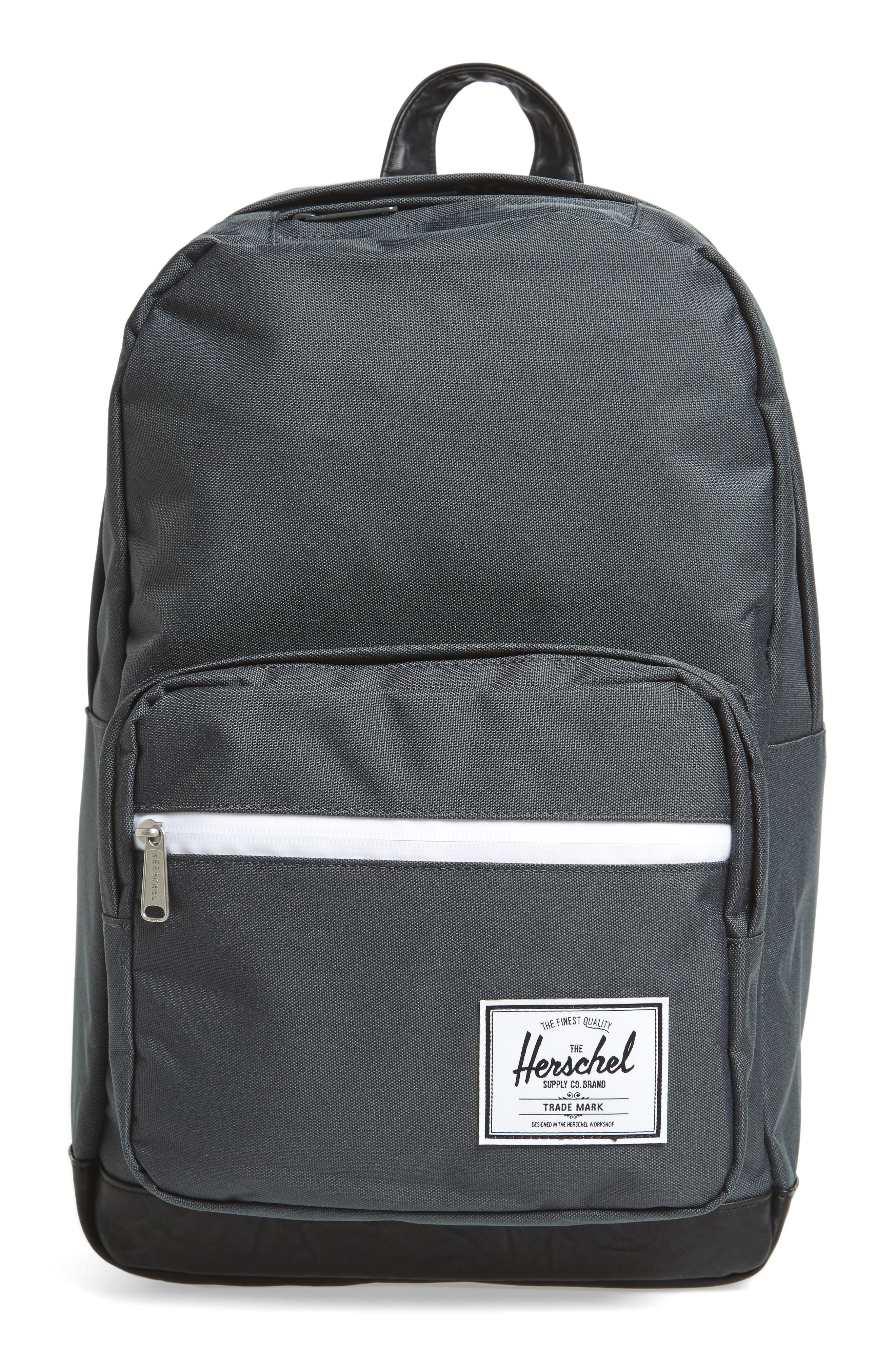 'Pop Quiz' Backpack,                         Main,                         color, Dark Shadow