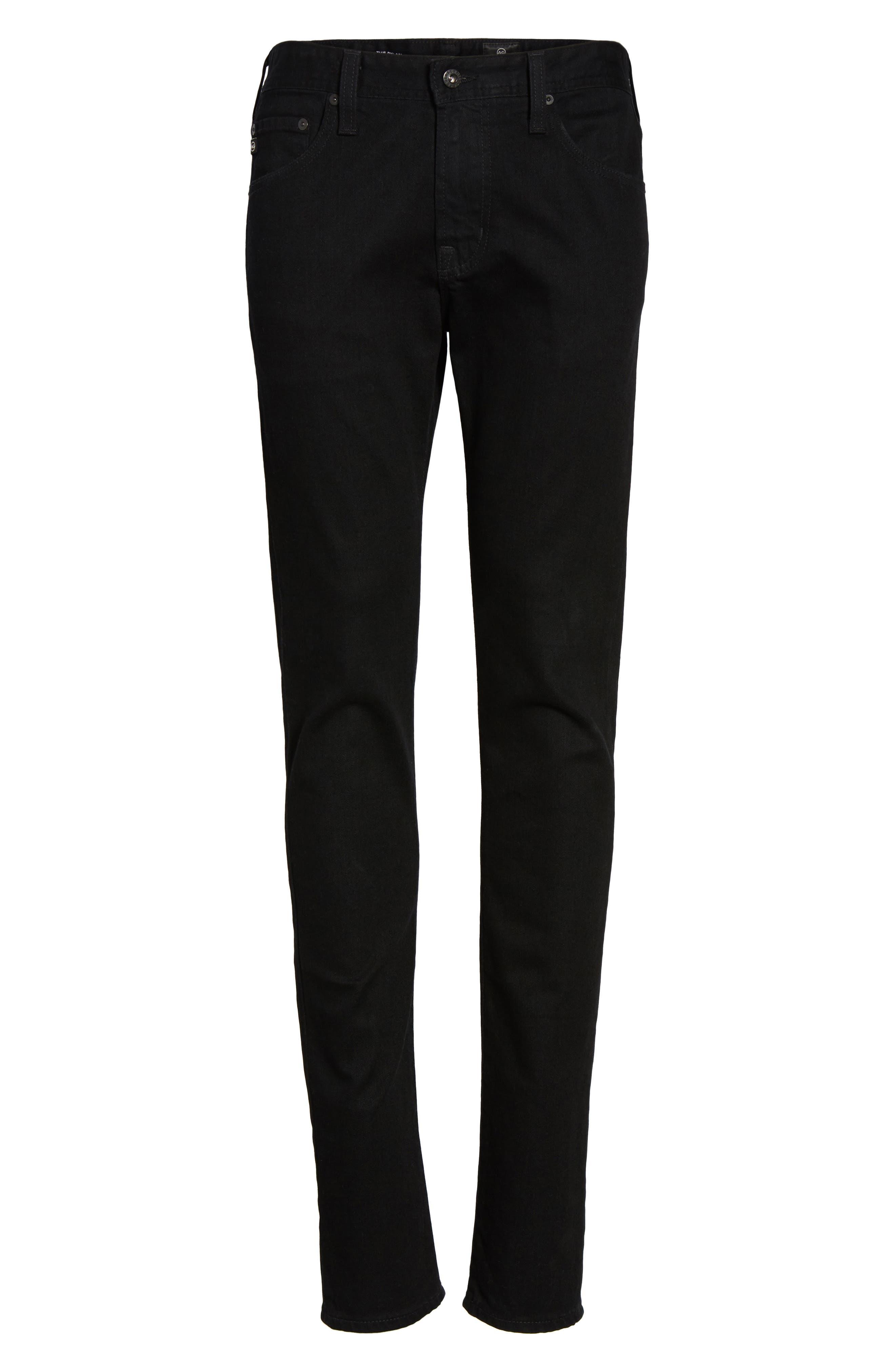 Alternate Image 6  - AG Dylan Slim Skinny Fit Jeans (Deep Pitch)