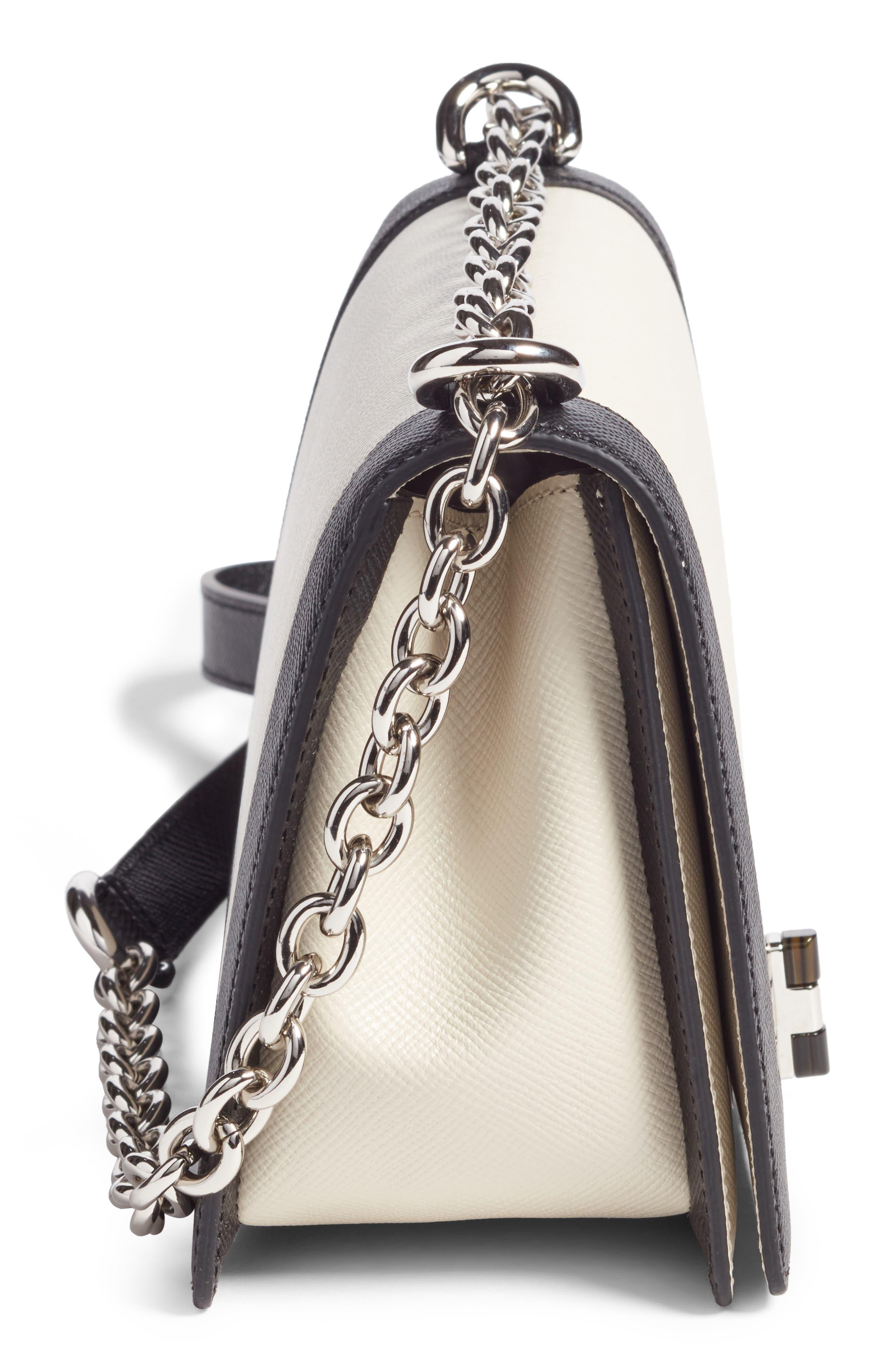 Alternate Image 5  - Serapian Milano Roberta Evolution Leather Crossbody Bag