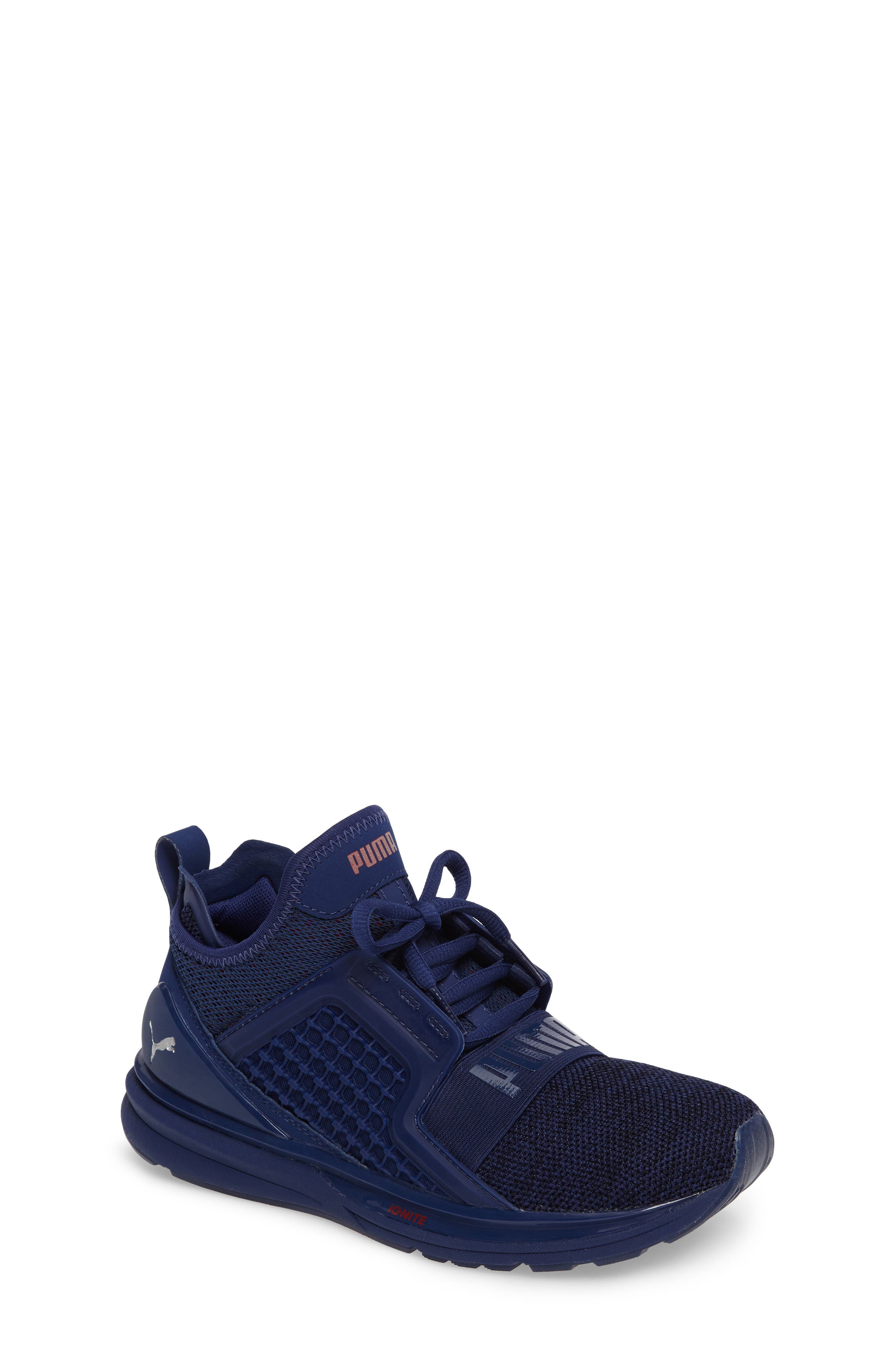 Alternate Image 1 Selected - PUMA Ignite Limitless Sneaker (Big Kid)