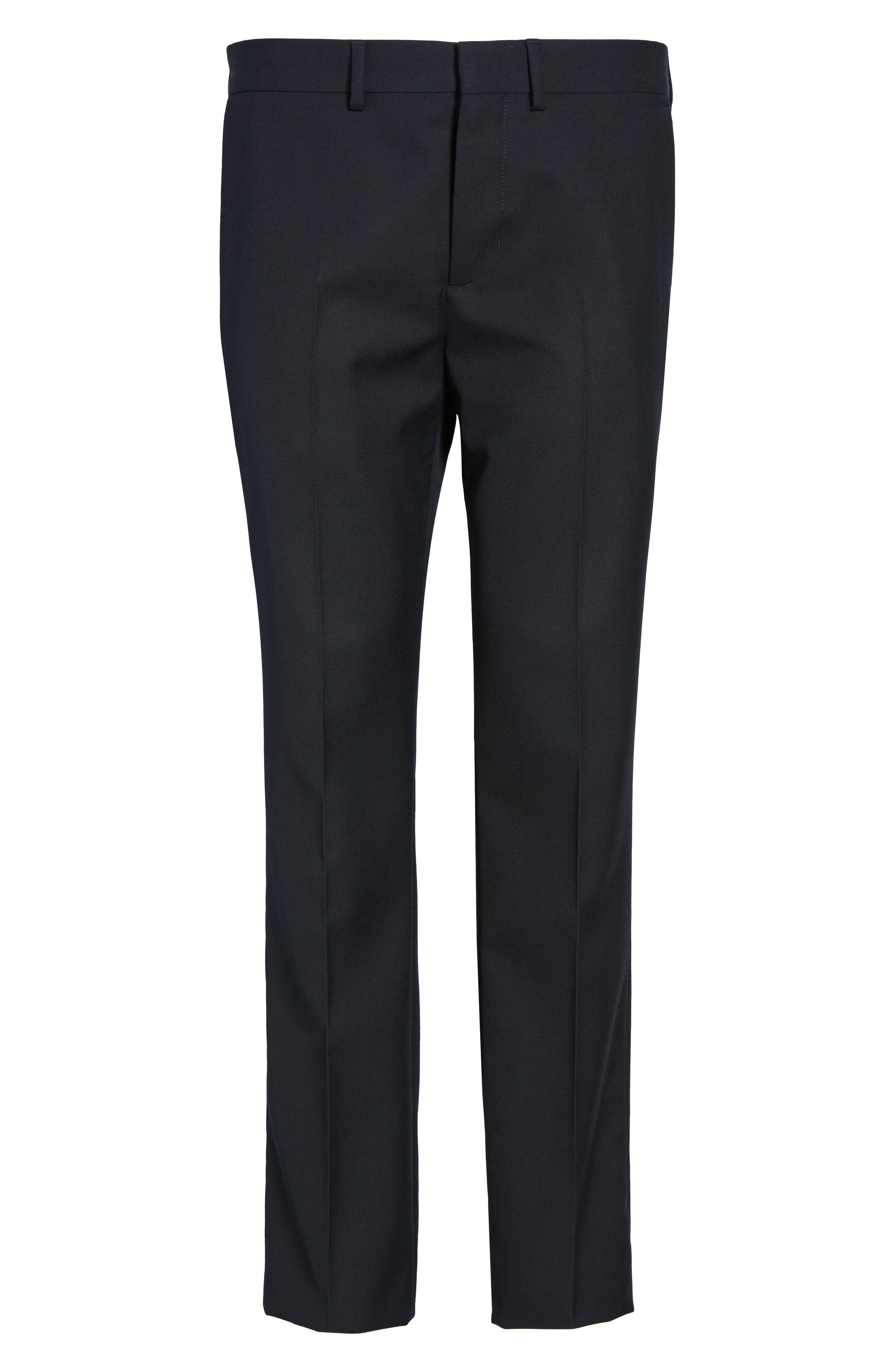 Alternate Image 4  - Vince Regular Fit Wool Trousers