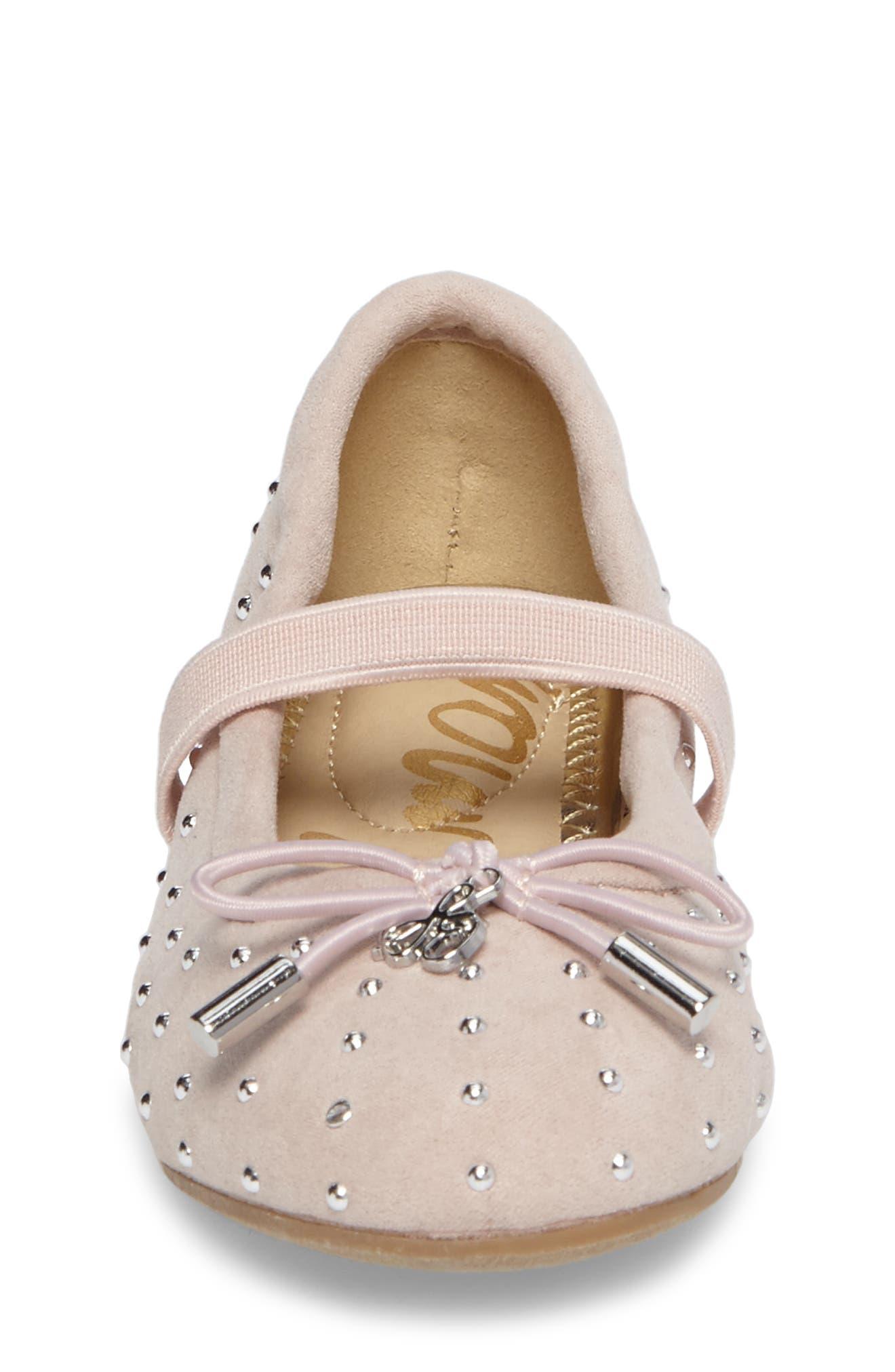 Alternate Image 4  - Sam Edelman Felicia Ballet Flats (Walker & Toddler)