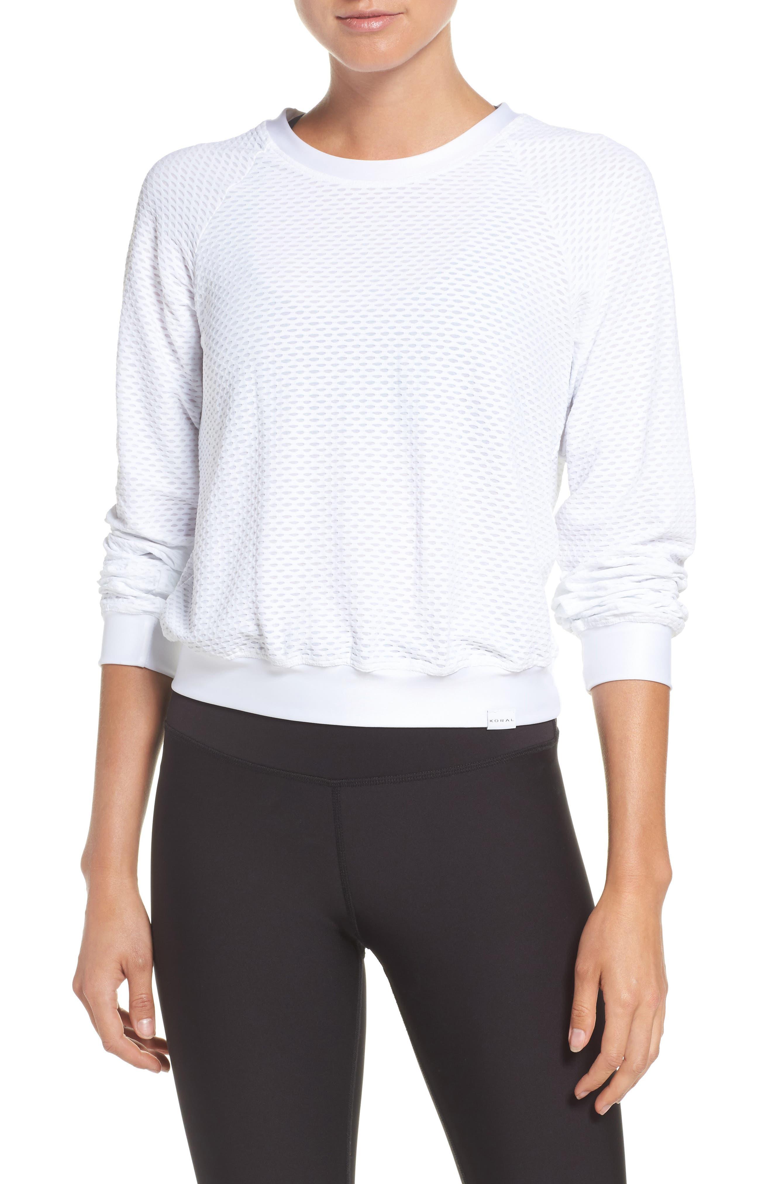 Sofia Pullover,                         Main,                         color, White