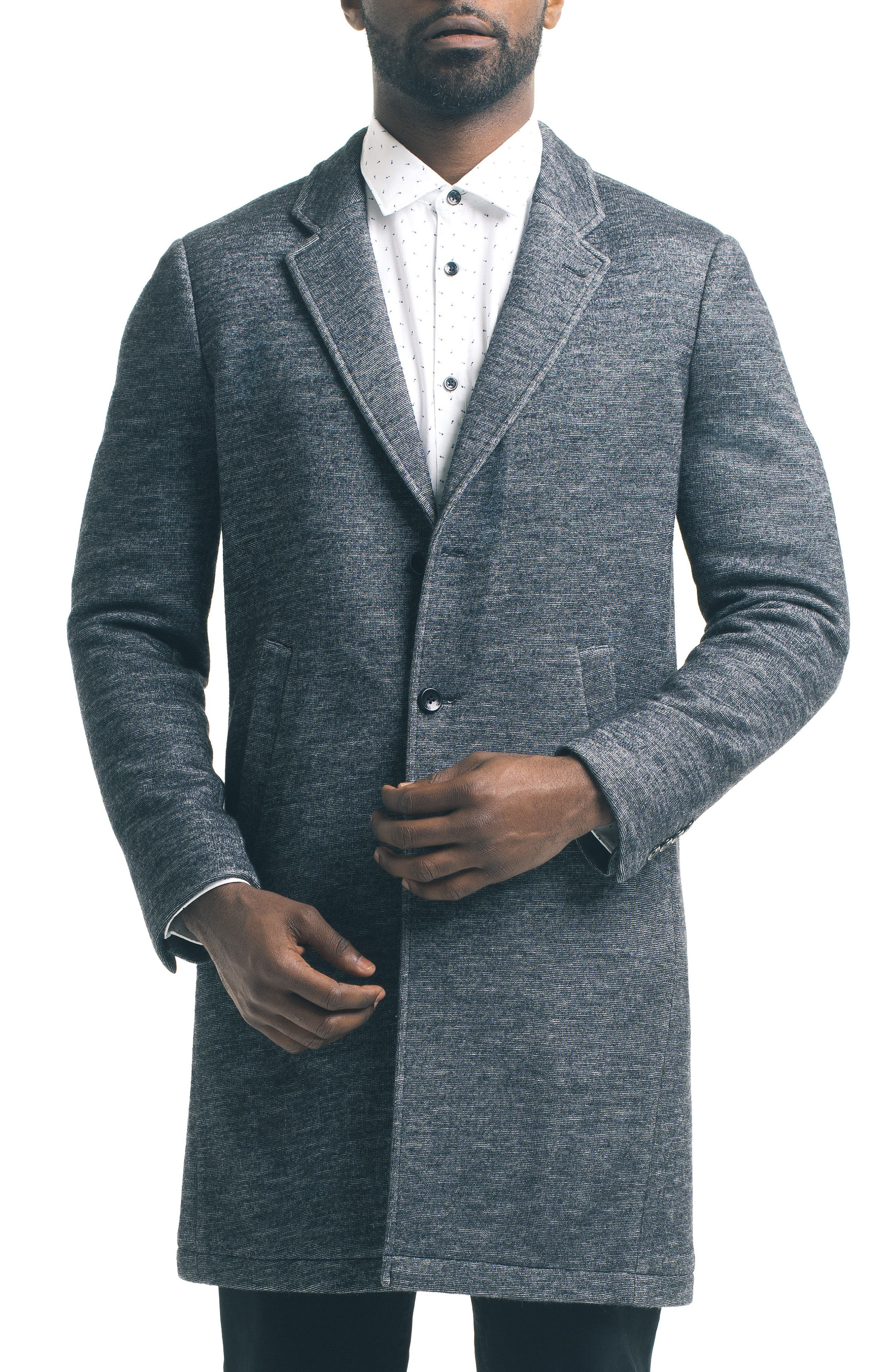 Chesterfield Slim Jacket,                         Main,                         color, Charcoal