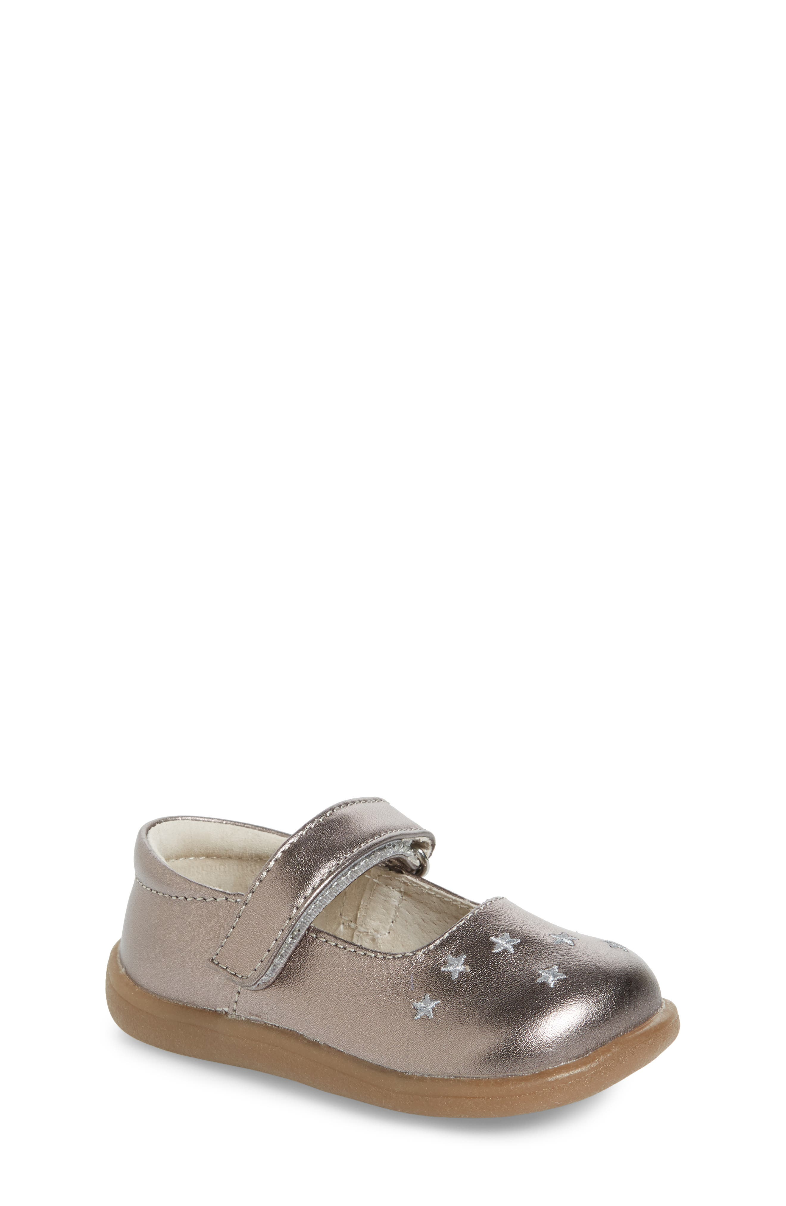 Main Image - See Kai Run Harriett Mary Jane Flat (Baby, Walker, Toddler & Little Kid)