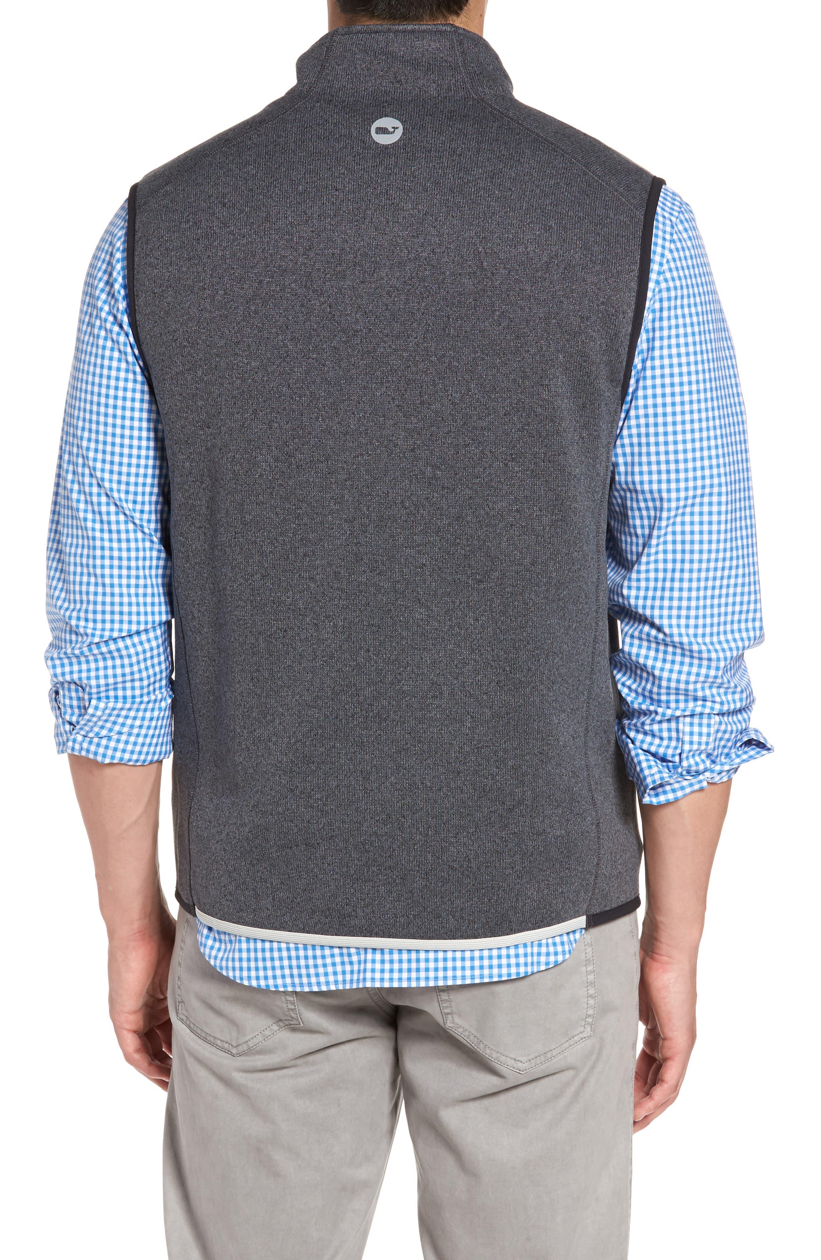 Tech Sweater Fleece Vest,                             Alternate thumbnail 2, color,                             Charcoal