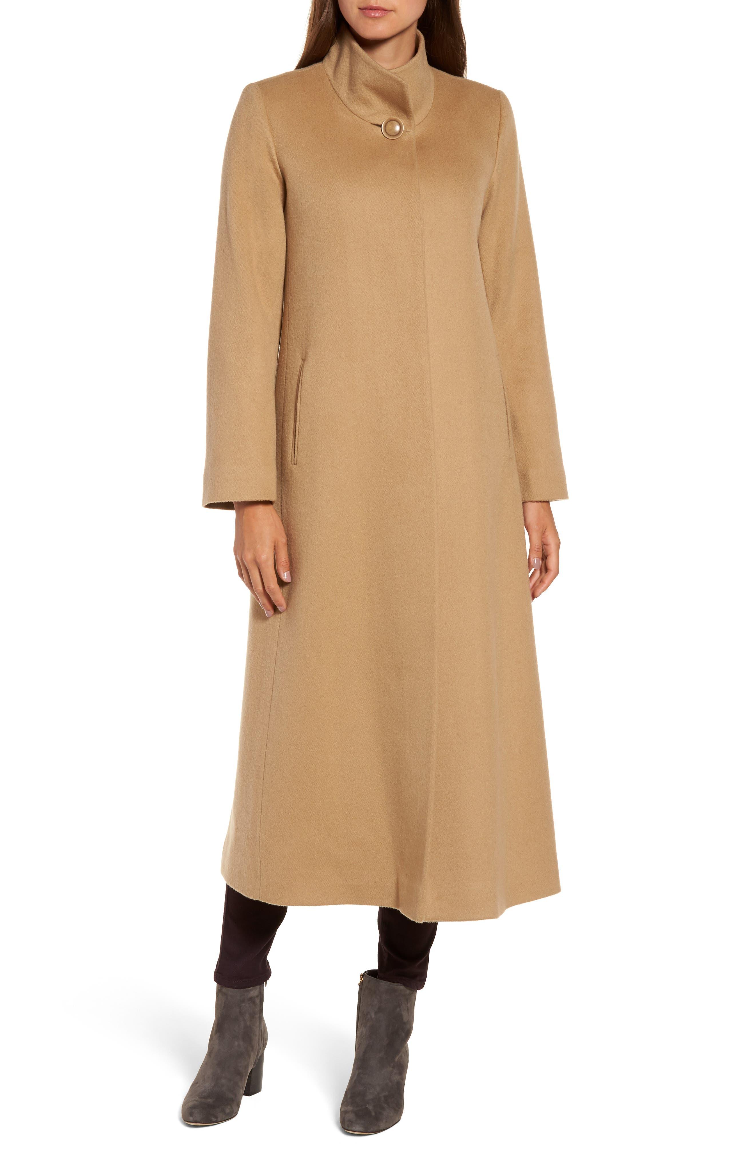 Alternate Image 4  - Fleurette Cashmere Long Coat
