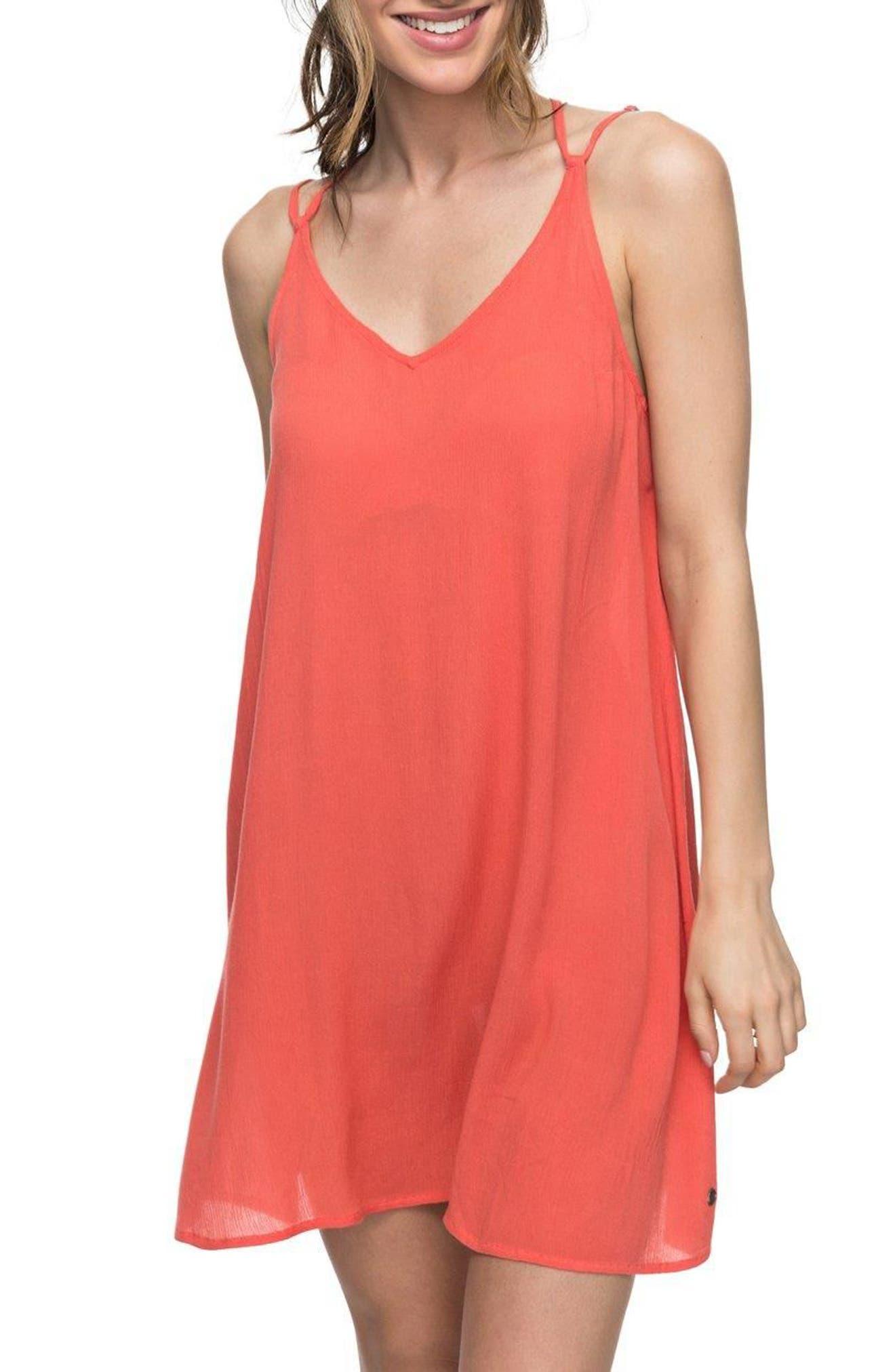 Main Image - Roxy Dome of Amalfi Strappy Camisole Dress