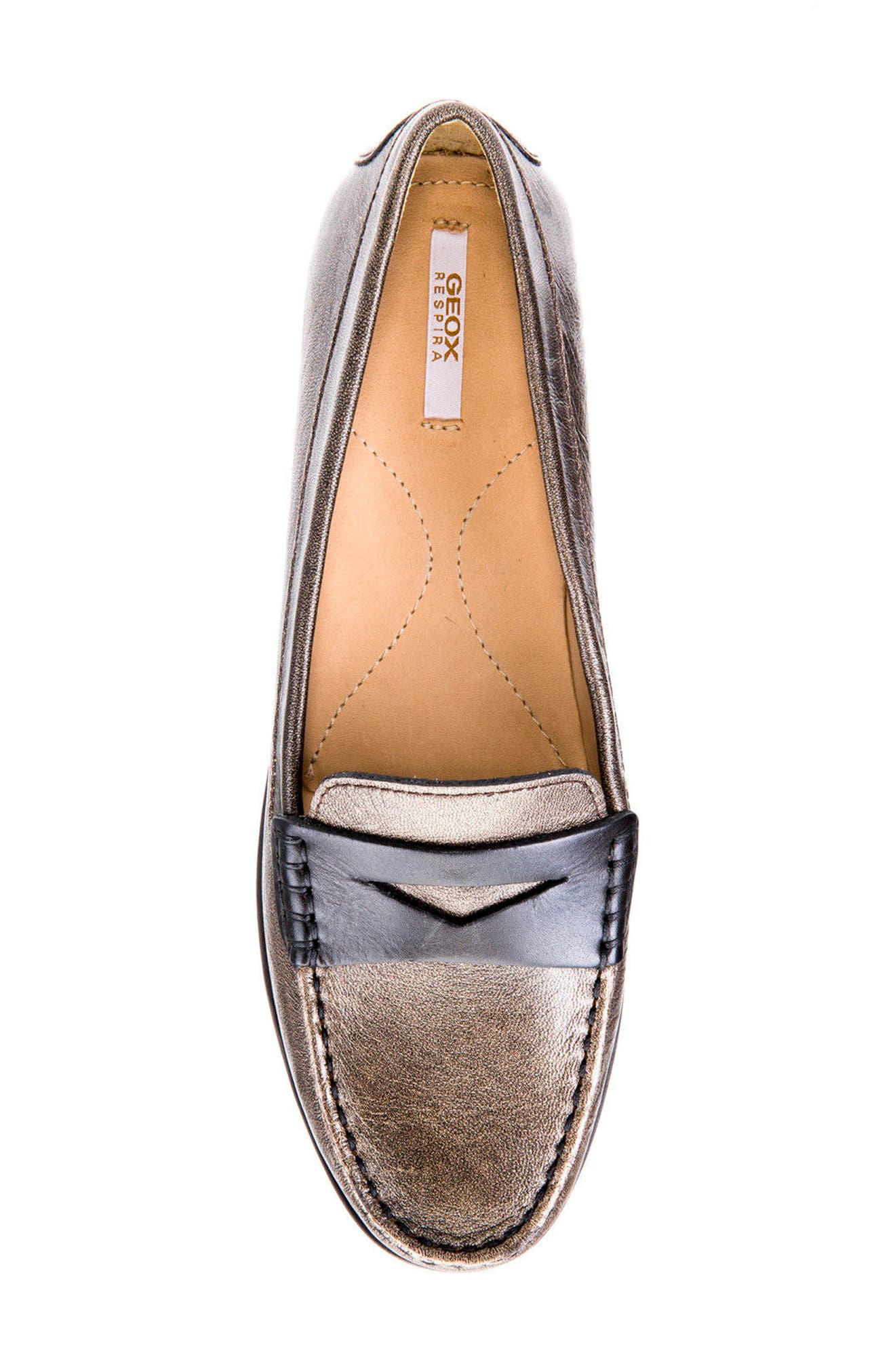 Alternate Image 5  - Geox Elidia 5 Penny Loafer (Women)