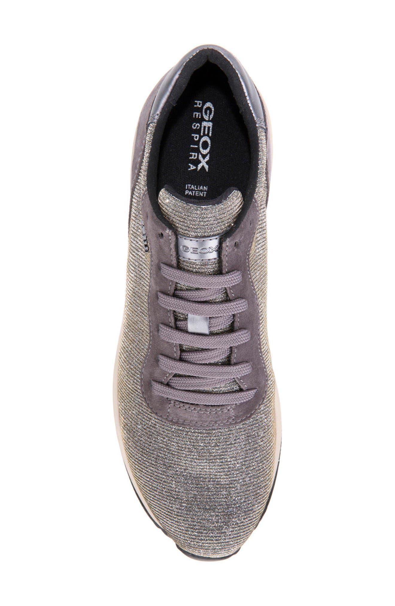 Alternate Image 5  - Geox Airell Sneaker (Women)