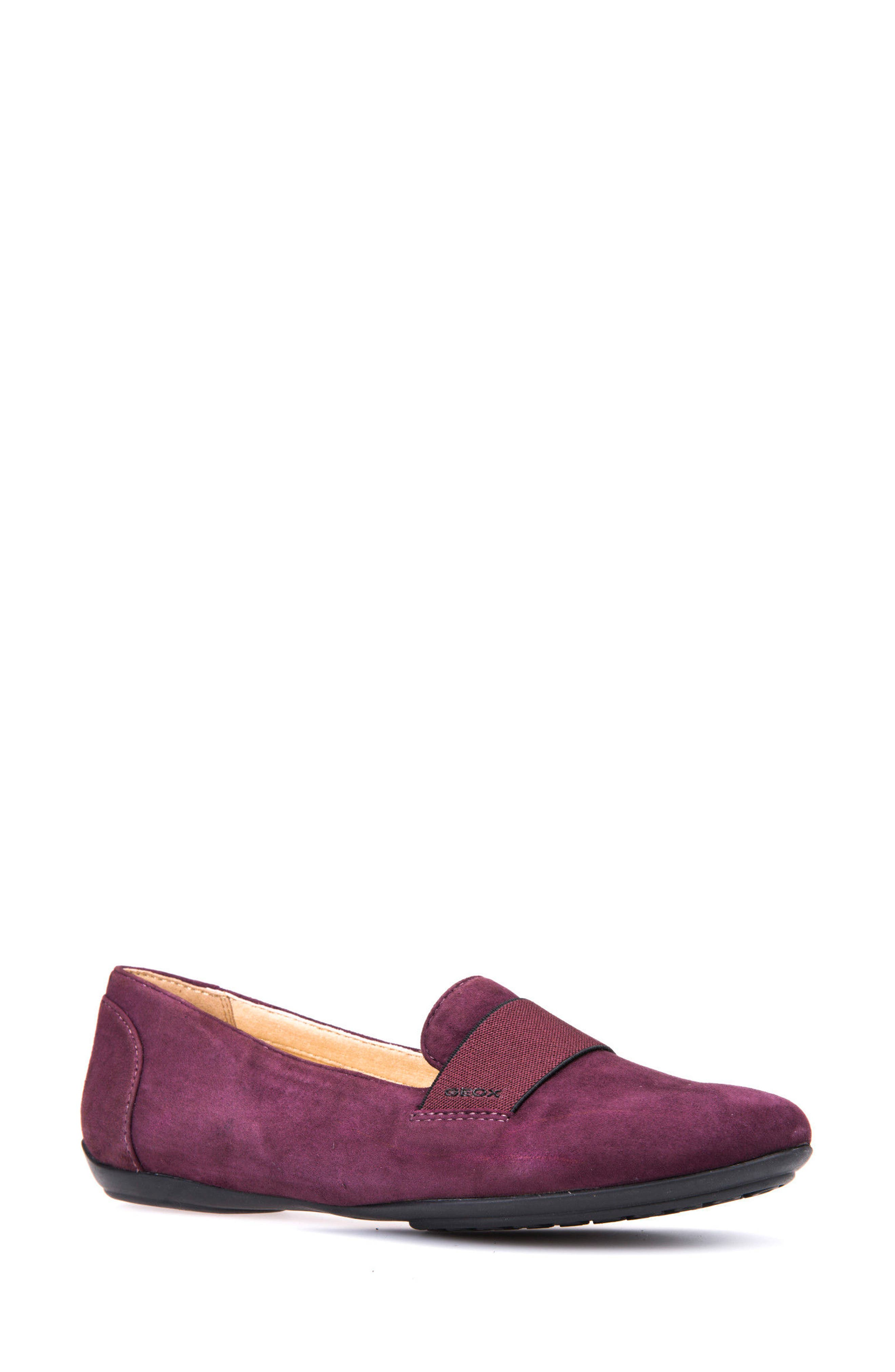 Charlene 17 Flat,                         Main,                         color, Prune Leather