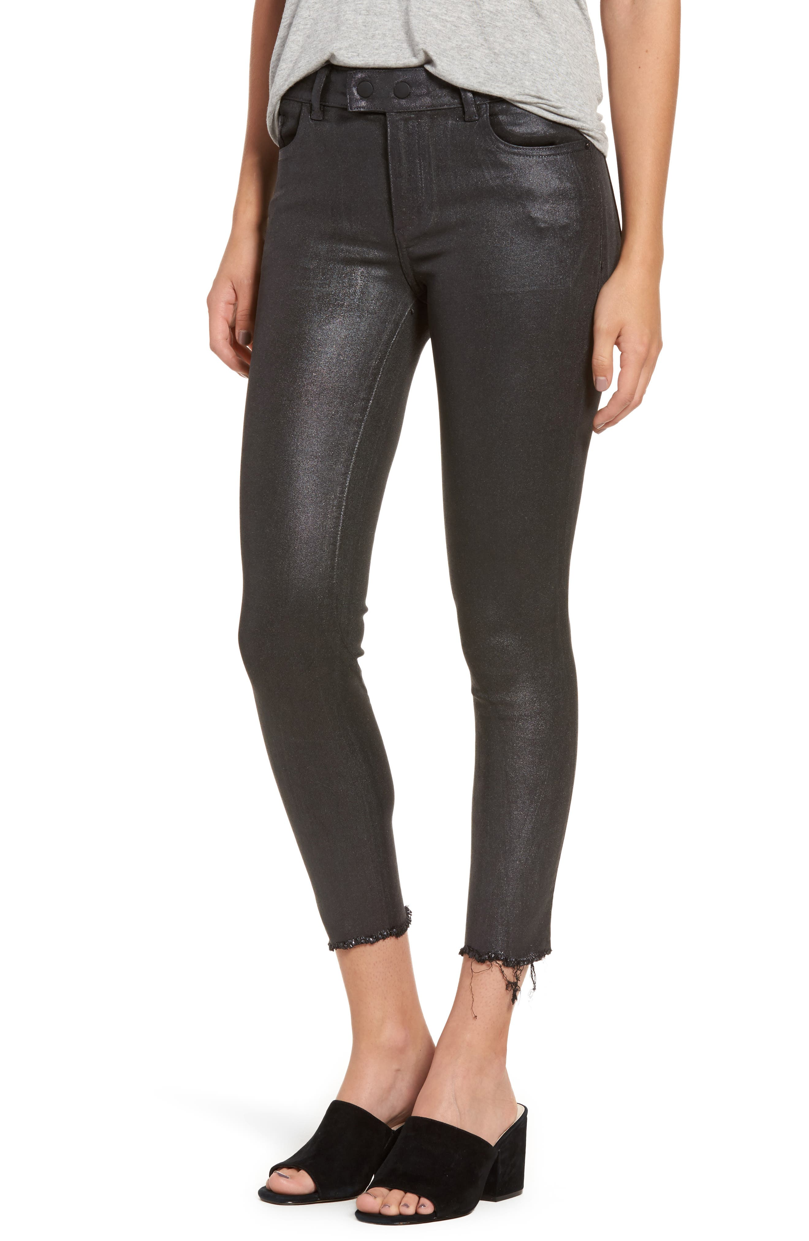 Main Image - DL1961 Florence Instasculpt Crop Skinny Jeans (Bradshaw)