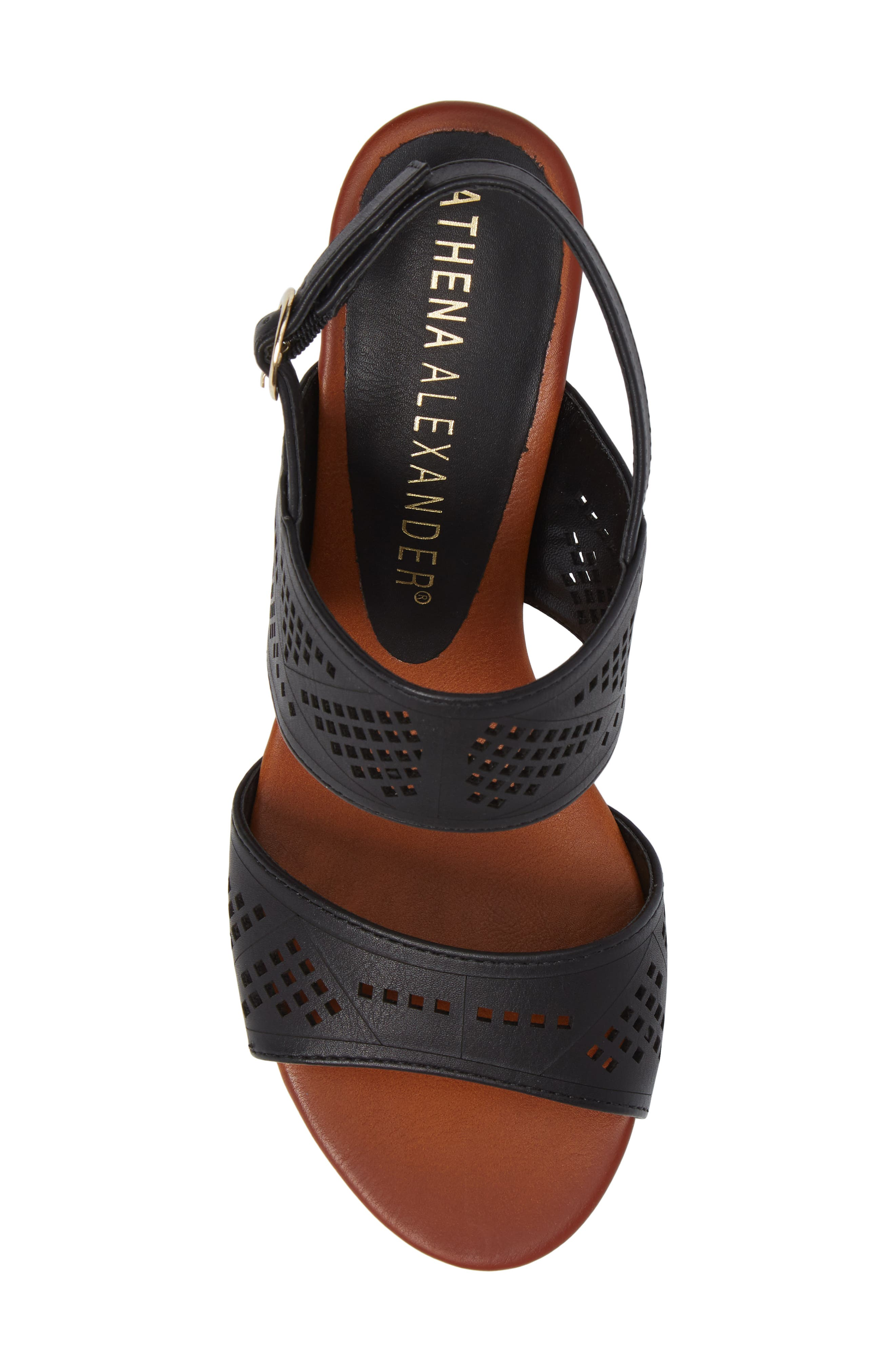 Alternate Image 5  - Athena Alexander Sparce Perforated Wedge Sandal (Women)