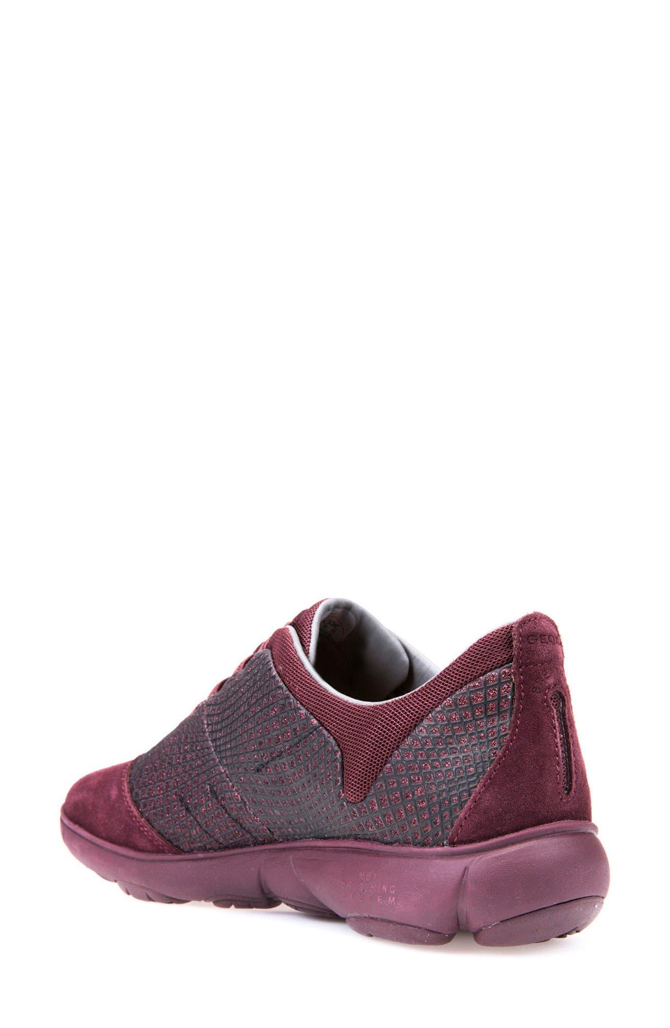 Alternate Image 2  - Geox Nebula Slip-On Sneaker (Women)