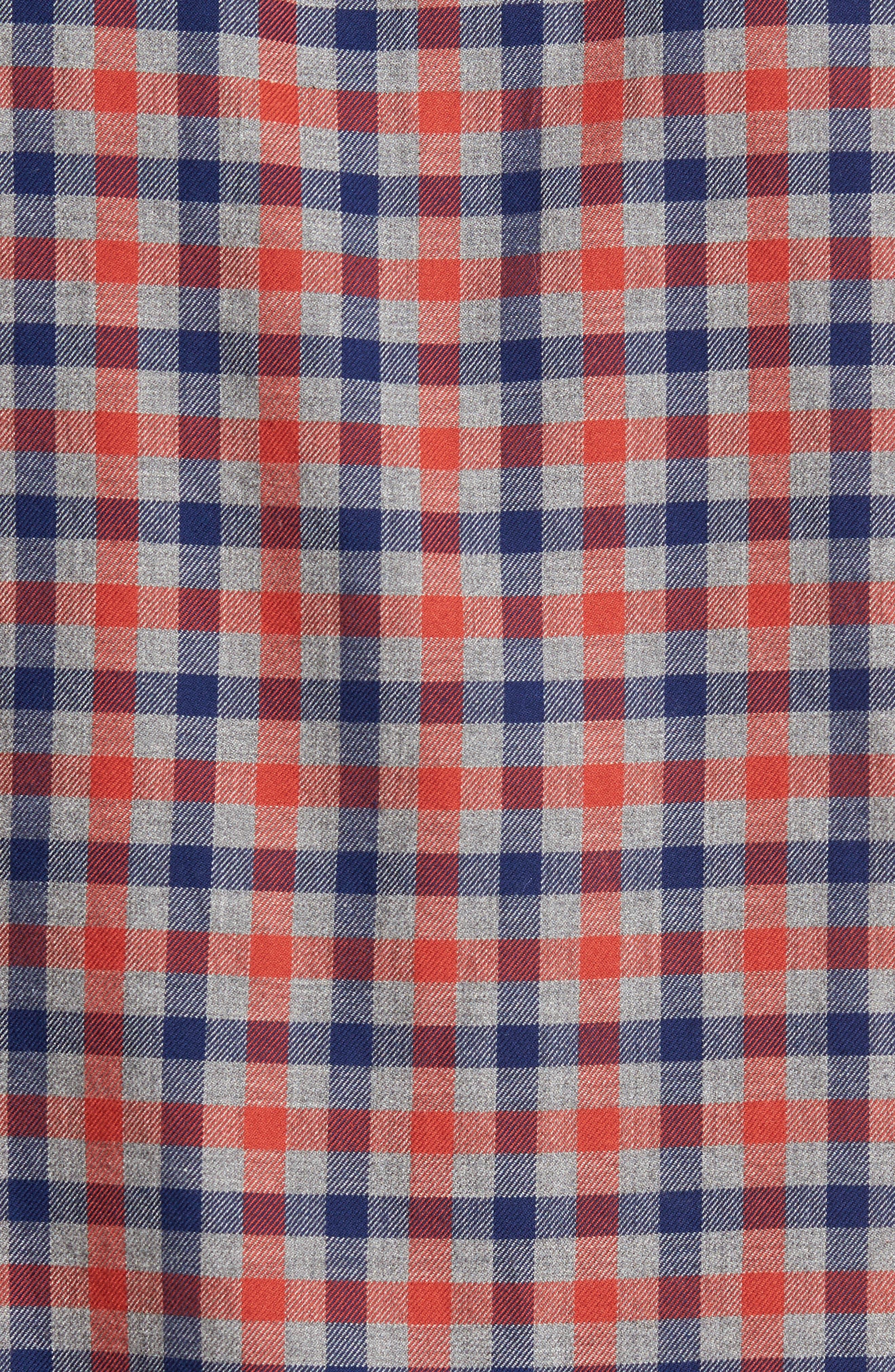 Alternate Image 5  - Barbour Moss Check Flannel Sport Shirt