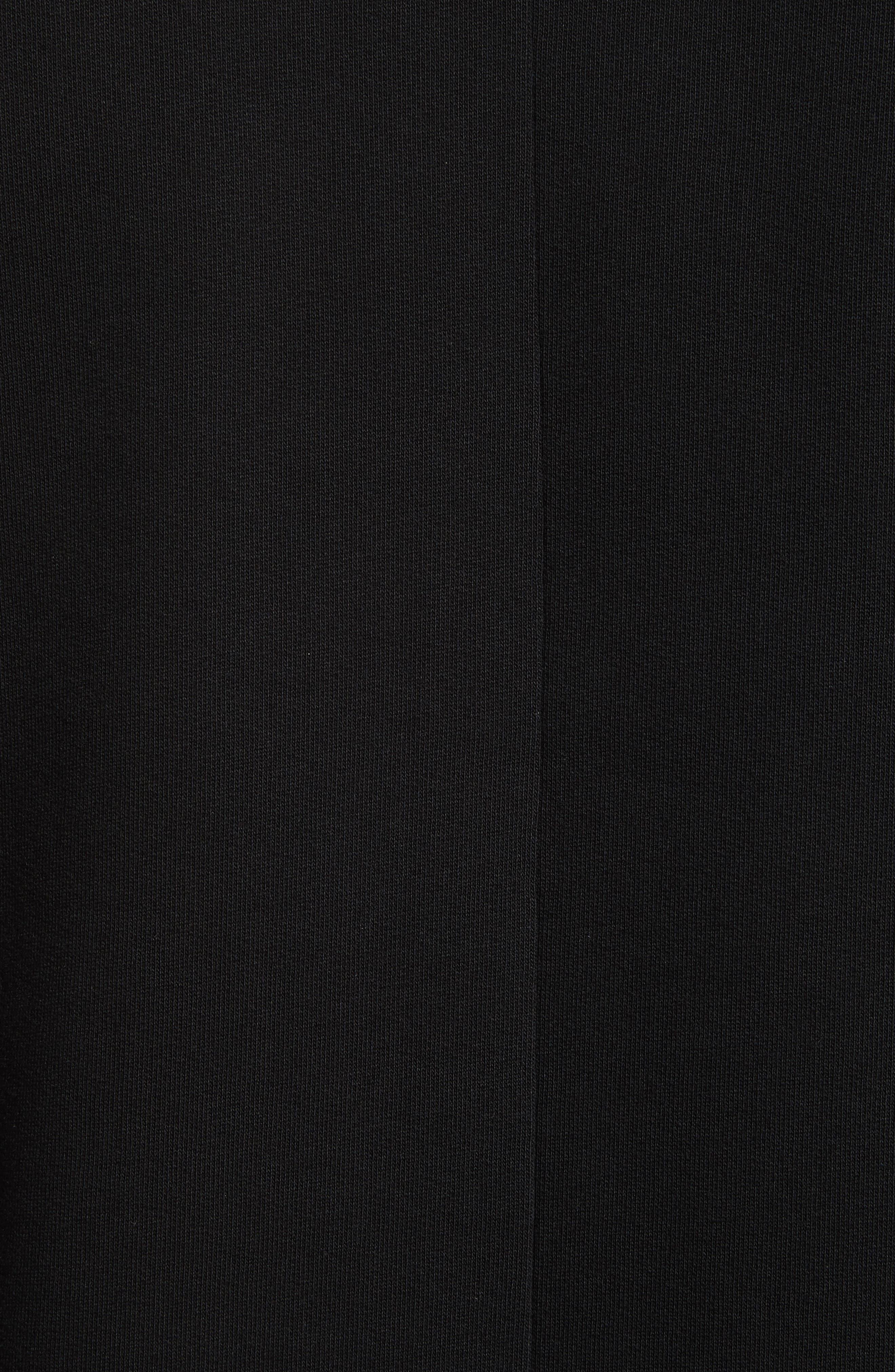 Flying Bands Crewneck Sweatshirt,                             Alternate thumbnail 5, color,                             Black