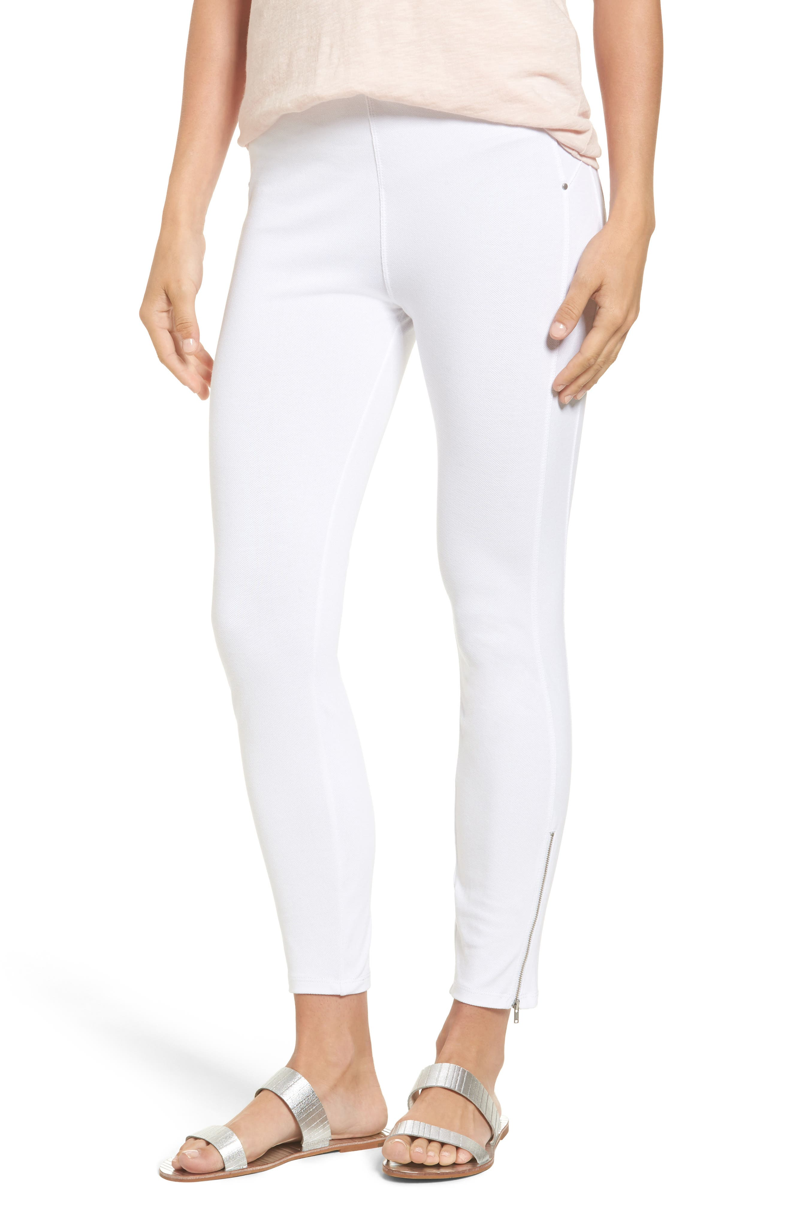 Lyssé Soho Canvas High Rise Crop Leggings