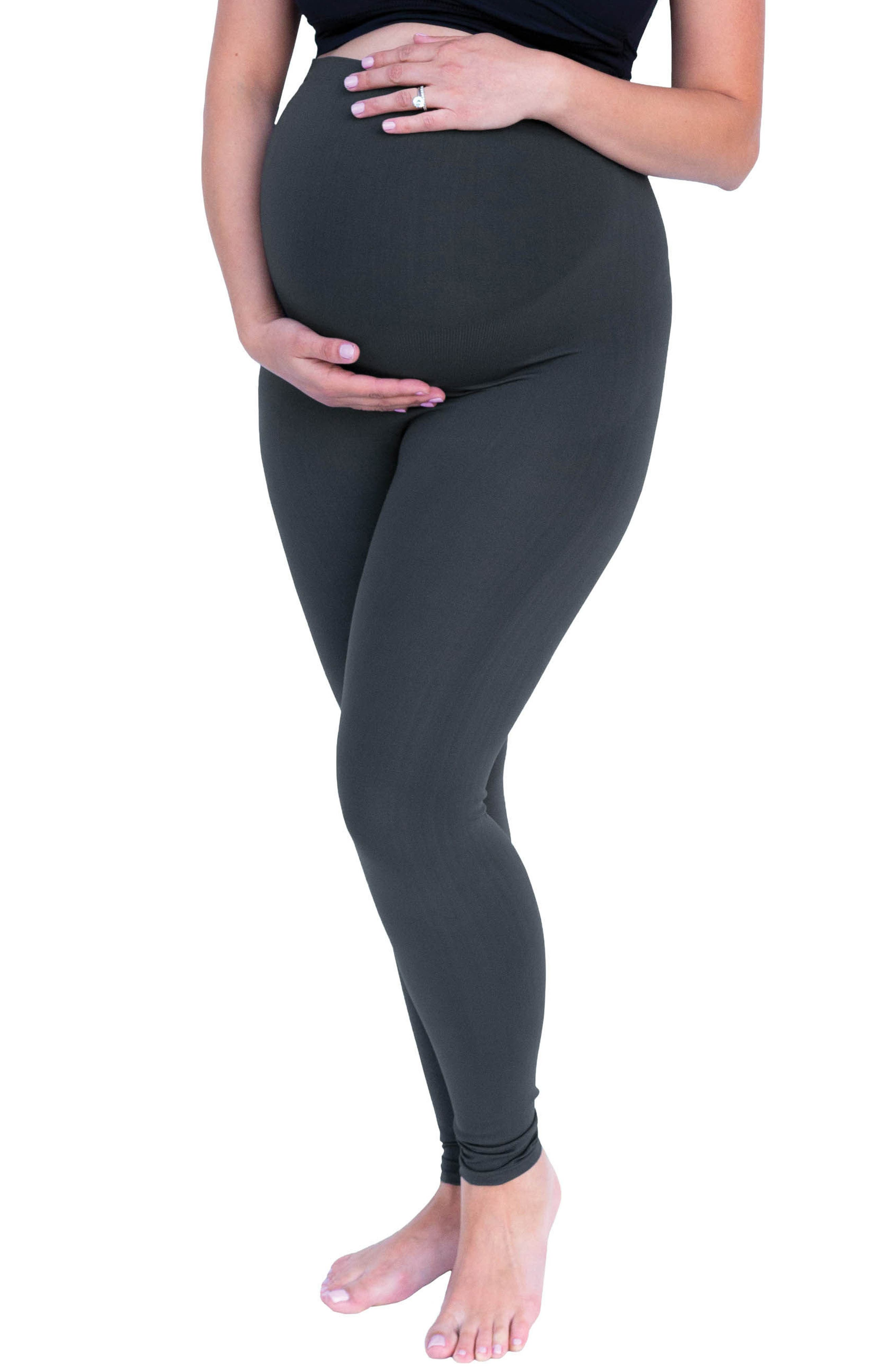 Belly Bandit Bump Support<sup>™</sup> Leggings,                             Main thumbnail 1, color,                             Grey