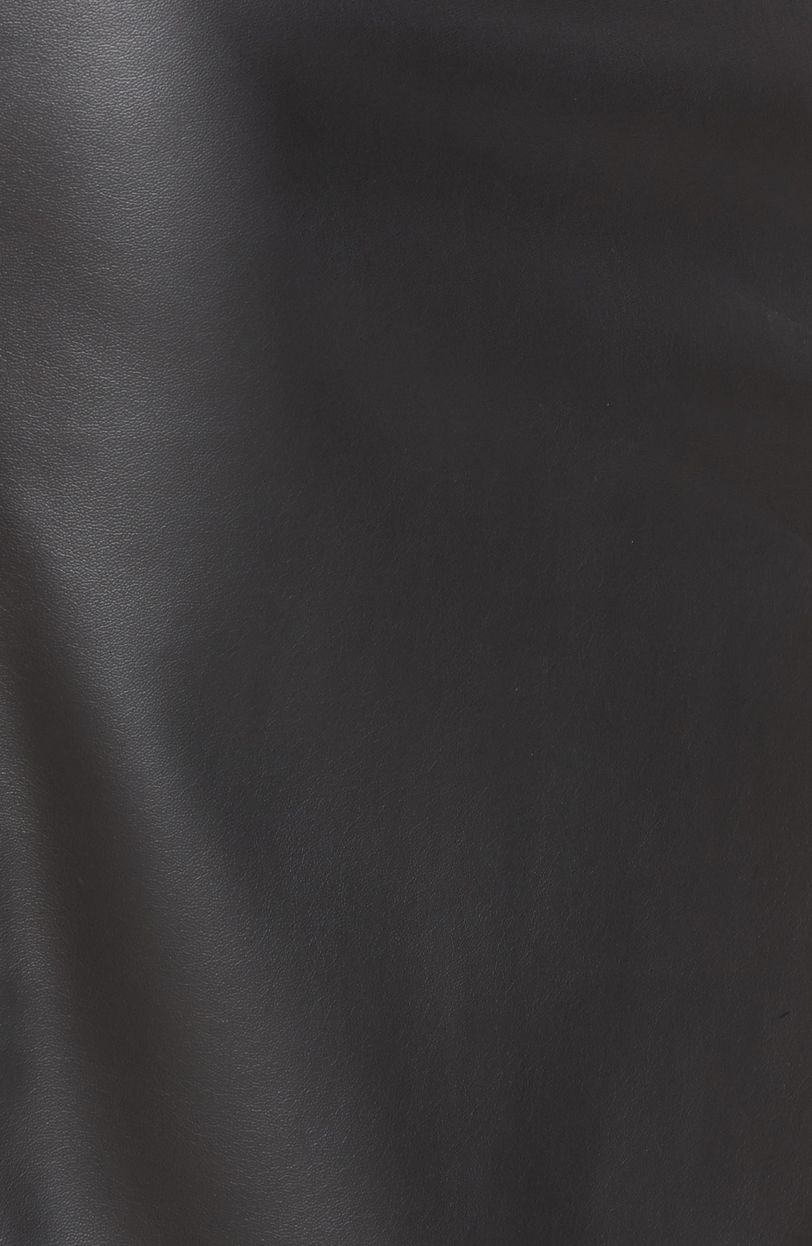 Alternate Image 6  - Halogen® Faux Leather Pencil Skirt (Regular & Petite)