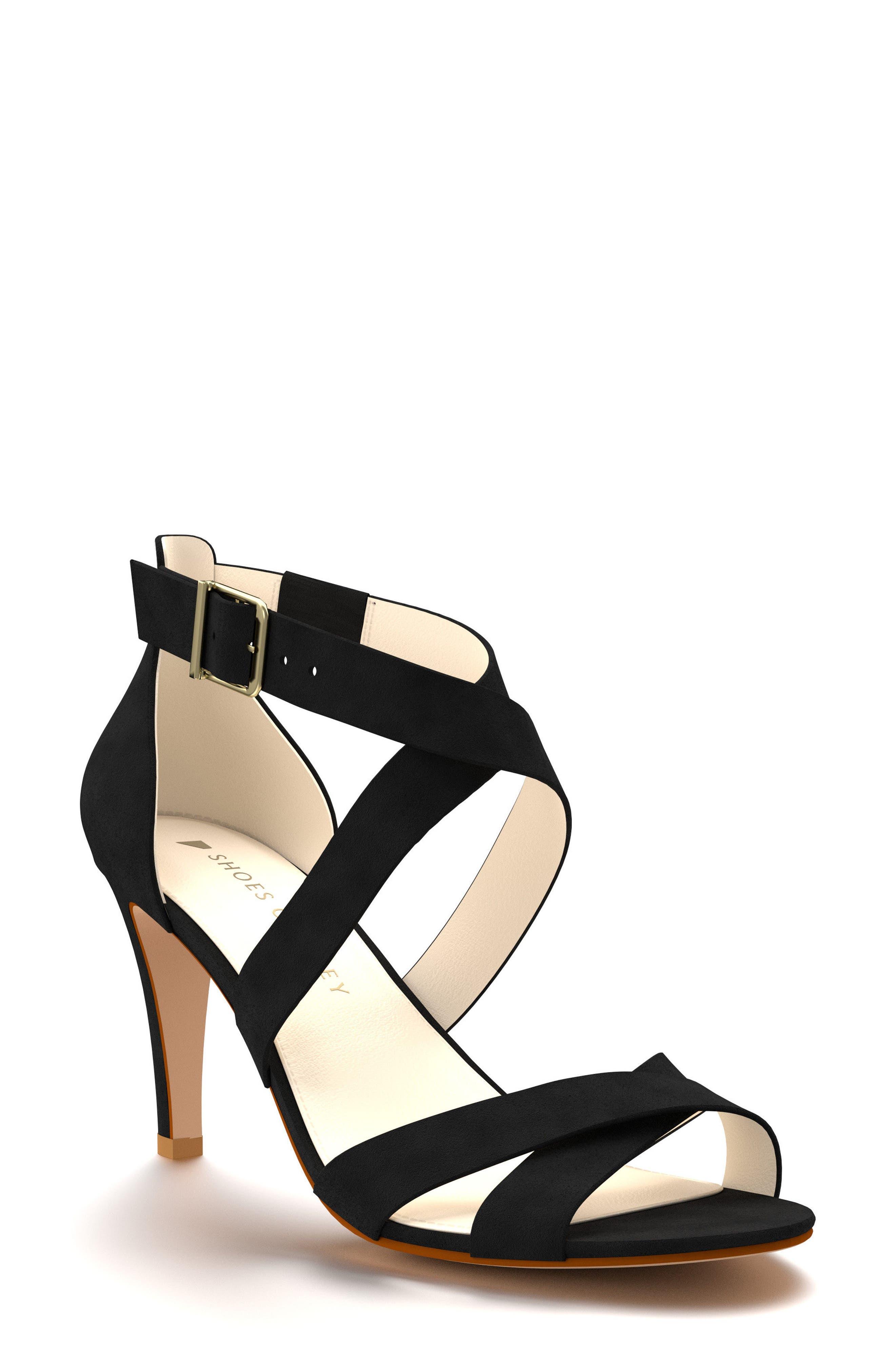 Shoes of Prey Crisscross Strappy Sandal (Women)