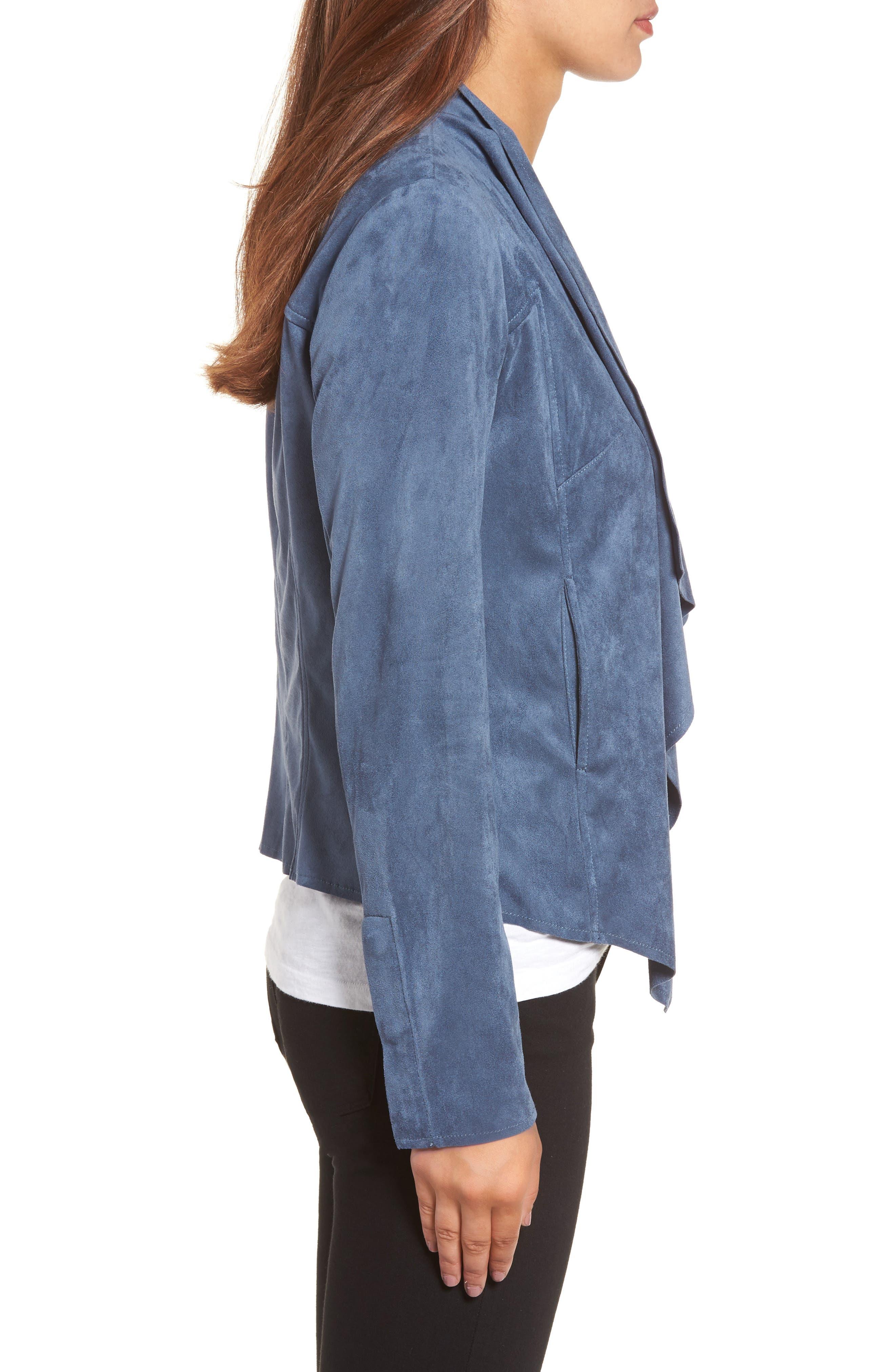 Alternate Image 3  - KUT from the Kloth Tayanita Faux Suede Jacket