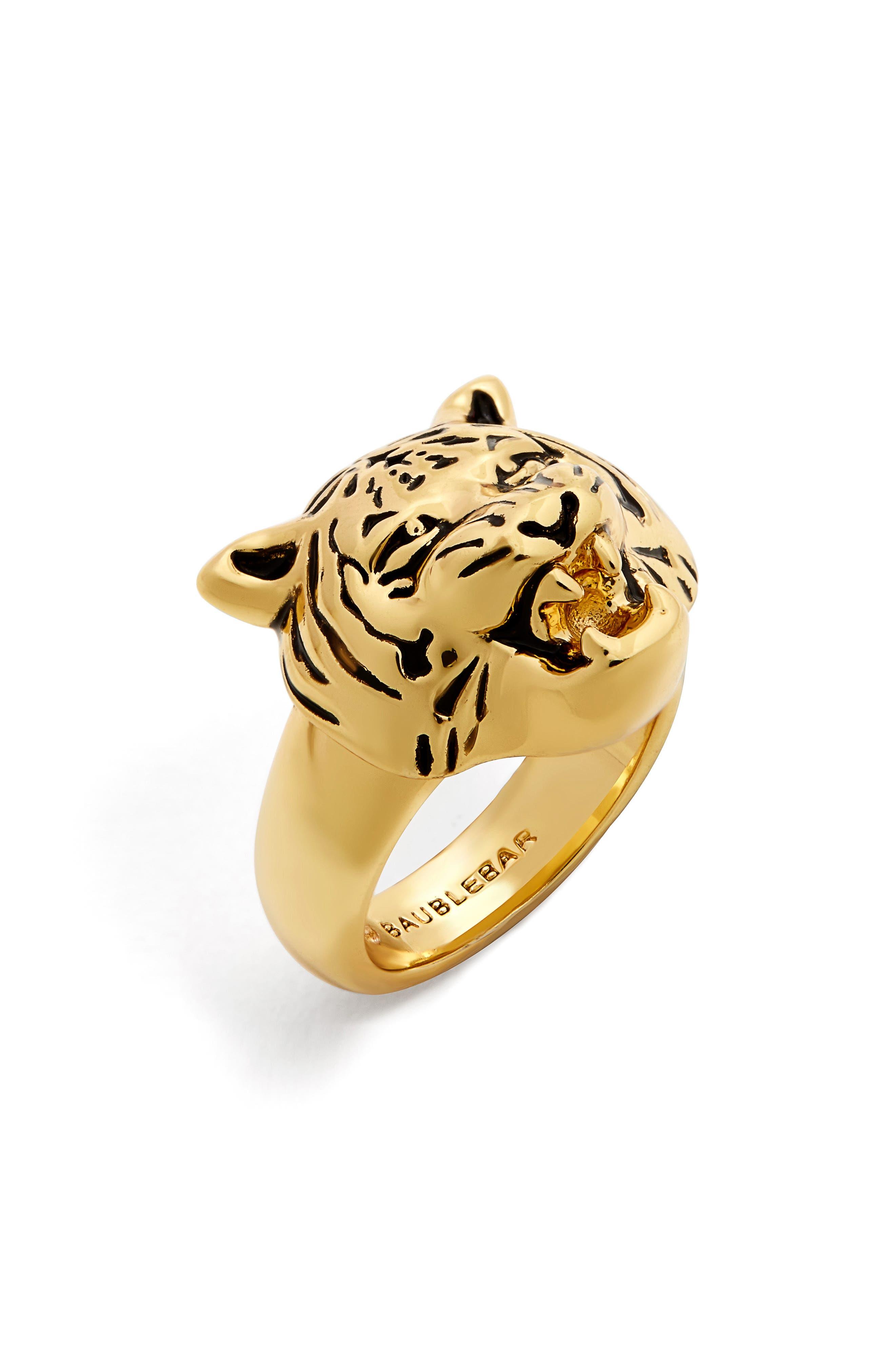BaubleBar Jaguar Ring