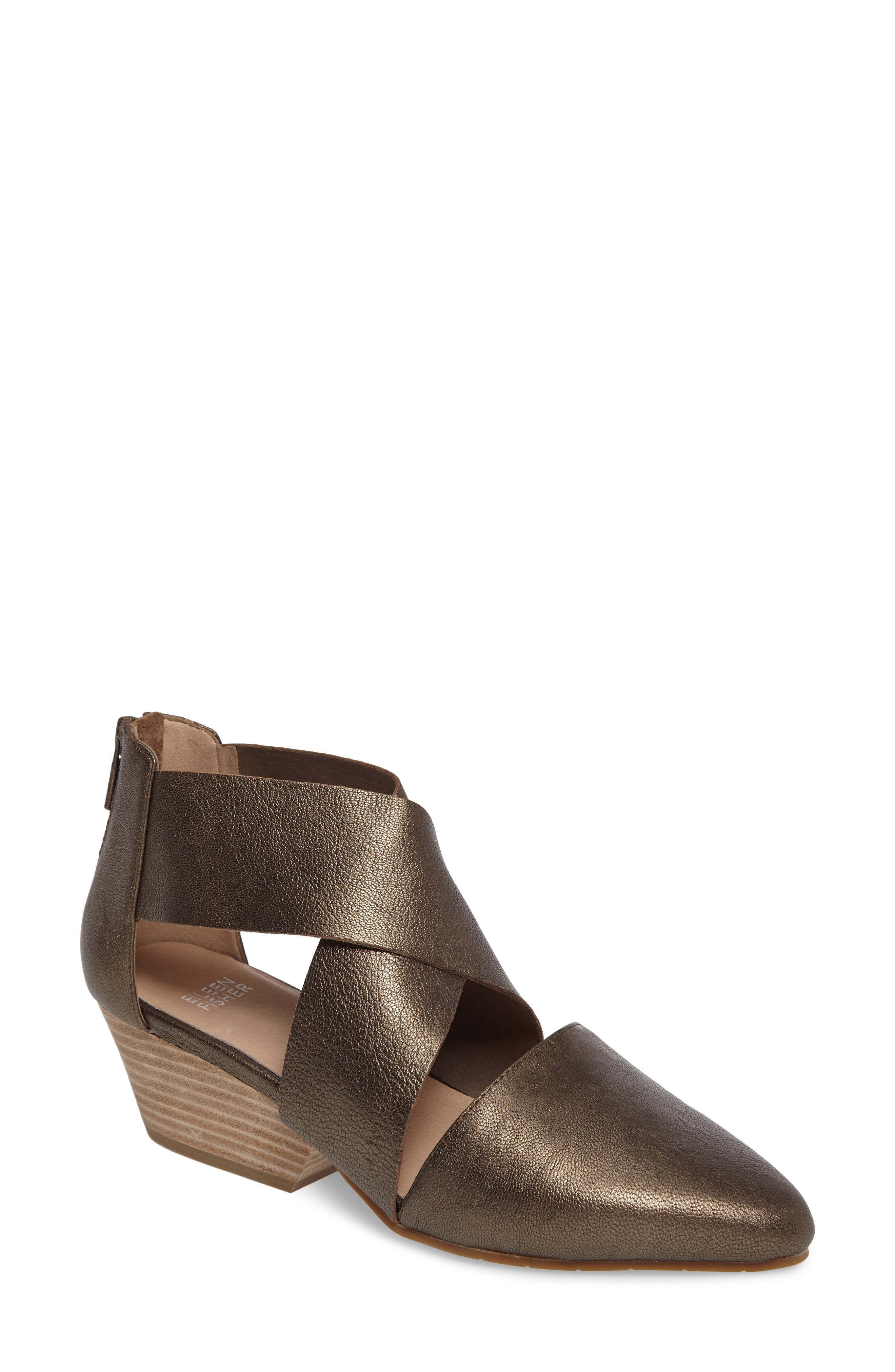 Alternate Image 1 Selected - Eileen Fisher Vera Strappy Pump (Women)