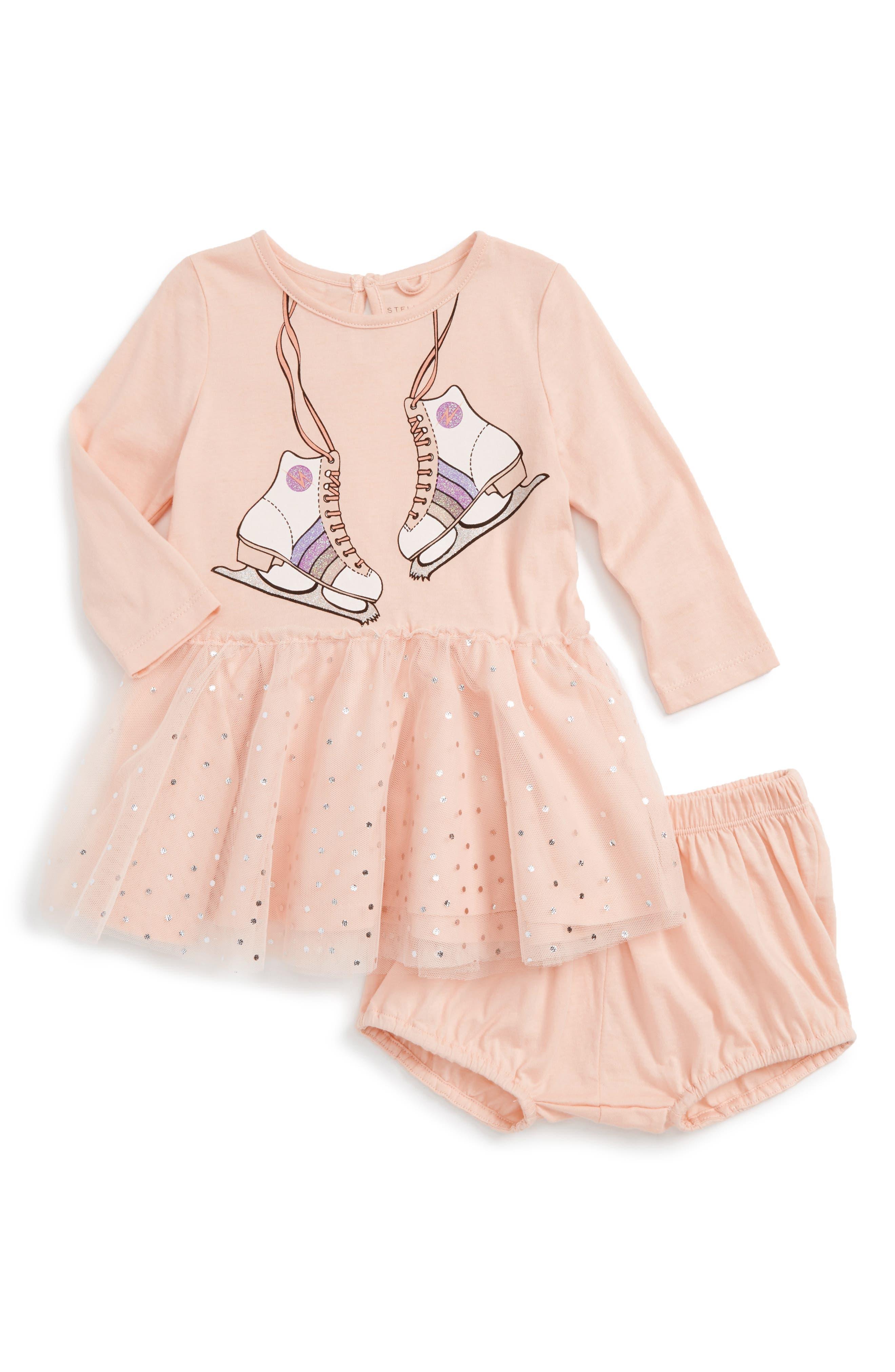Alternate Image 1 Selected - Stella McCartney Kids Primrose Dress (Baby Girls)