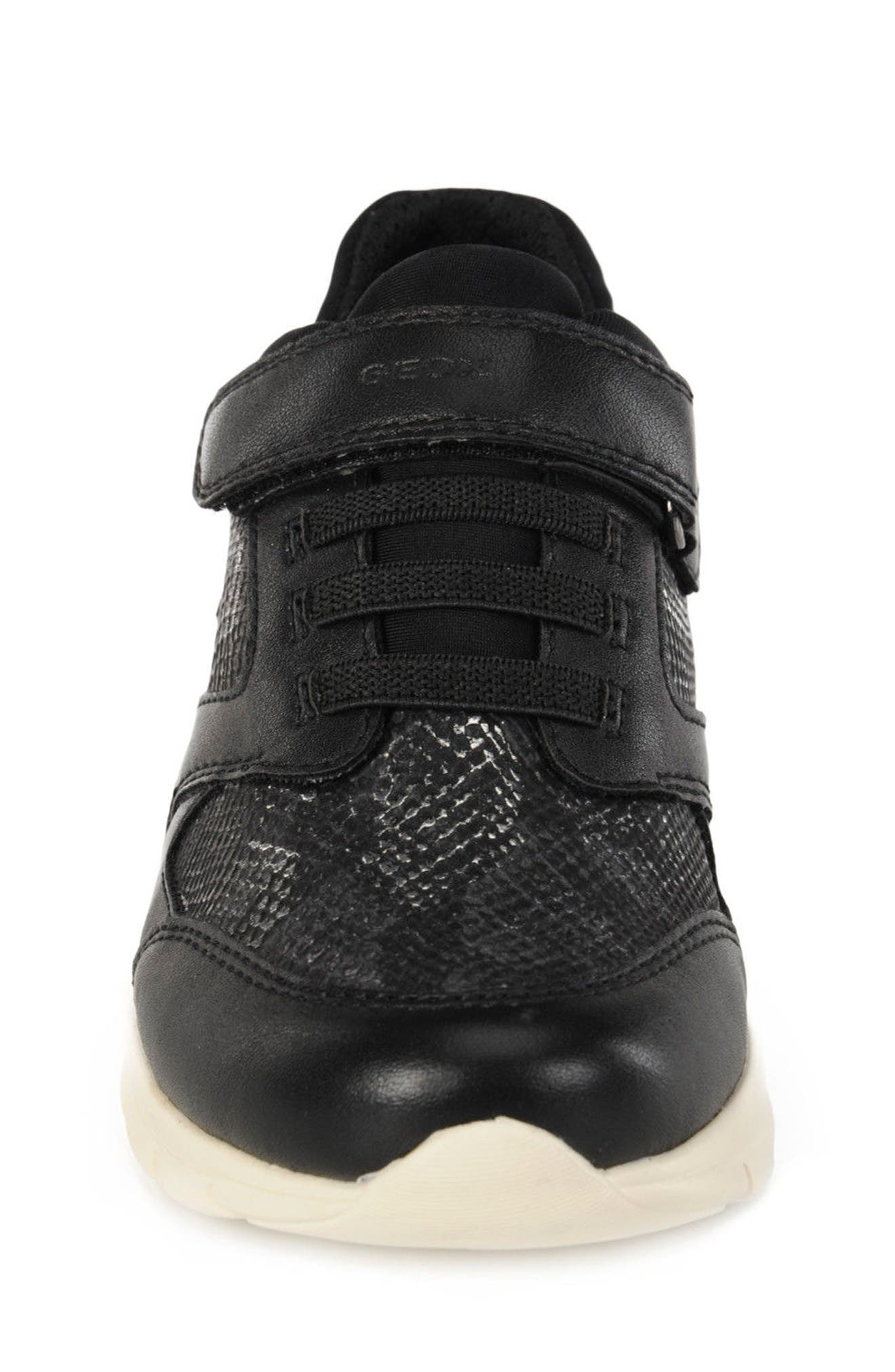 Sukie Sneaker,                             Alternate thumbnail 4, color,                             Black