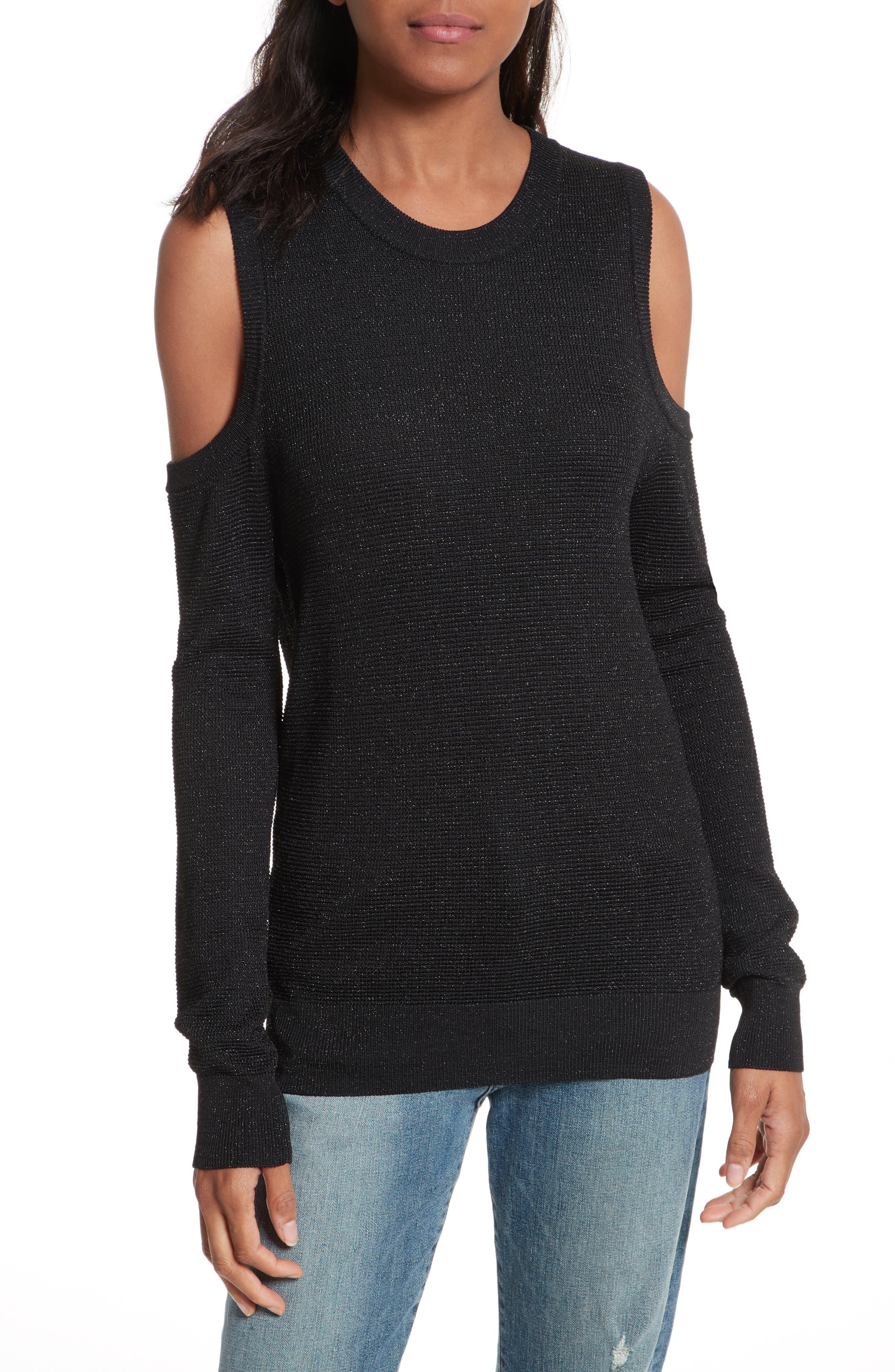 Rebecca Minkoff Page Metallic Sweater