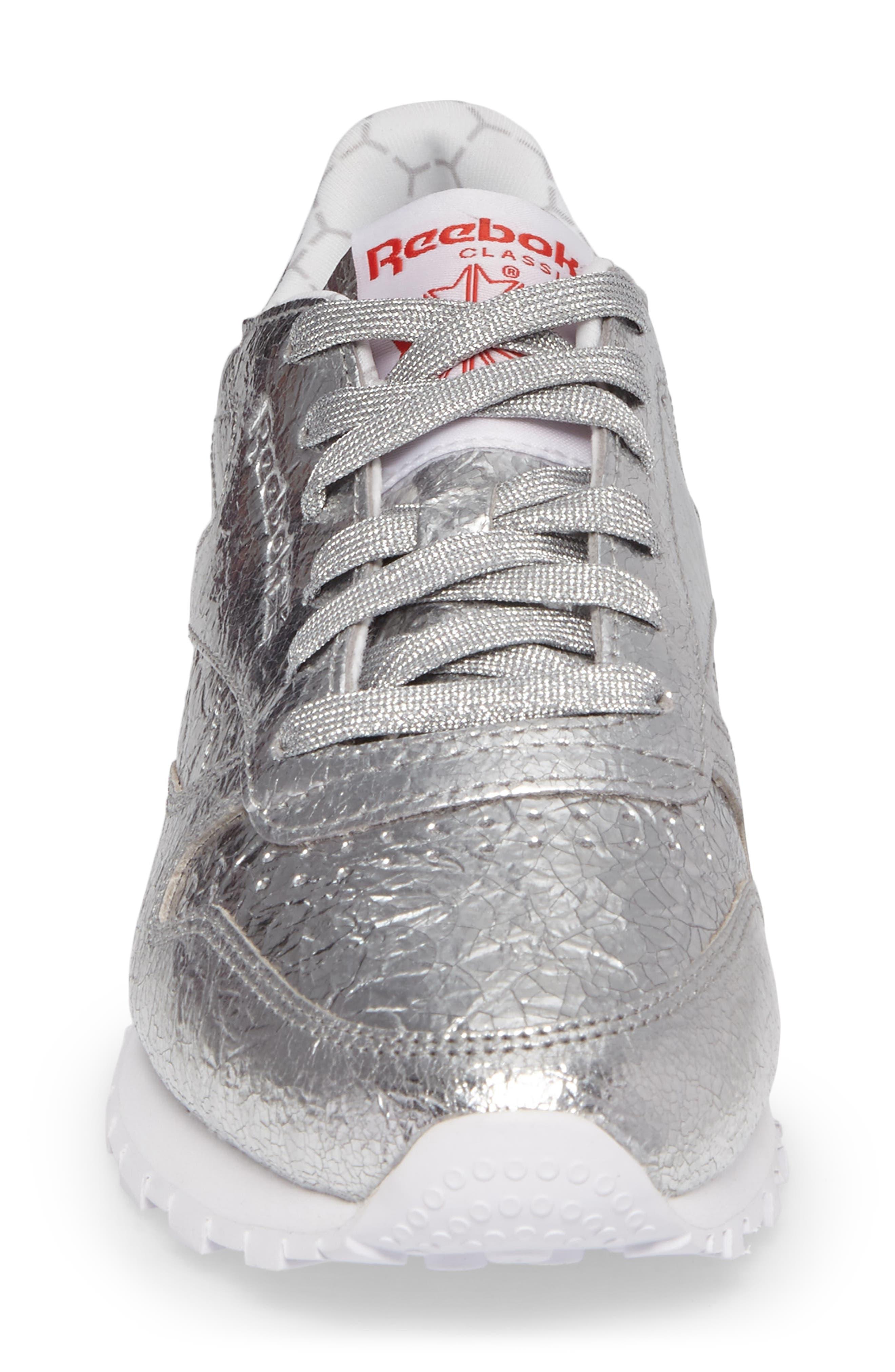Alternate Image 4  - Reebok Classic Leather HD Foil Sneaker (Women)